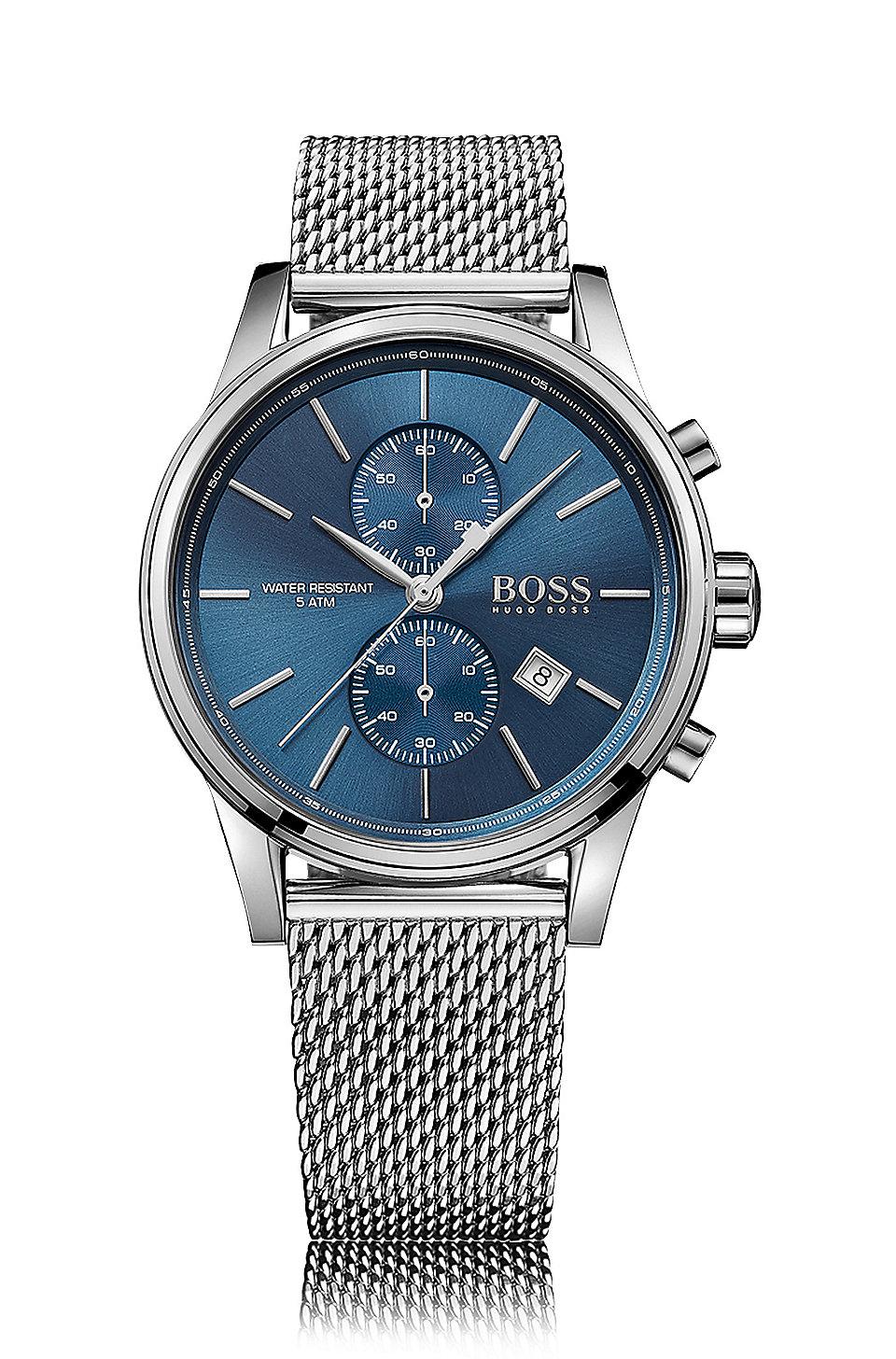BOSS - Stainless Steel Mesh Chronograph Watch  abb95e8a36b7