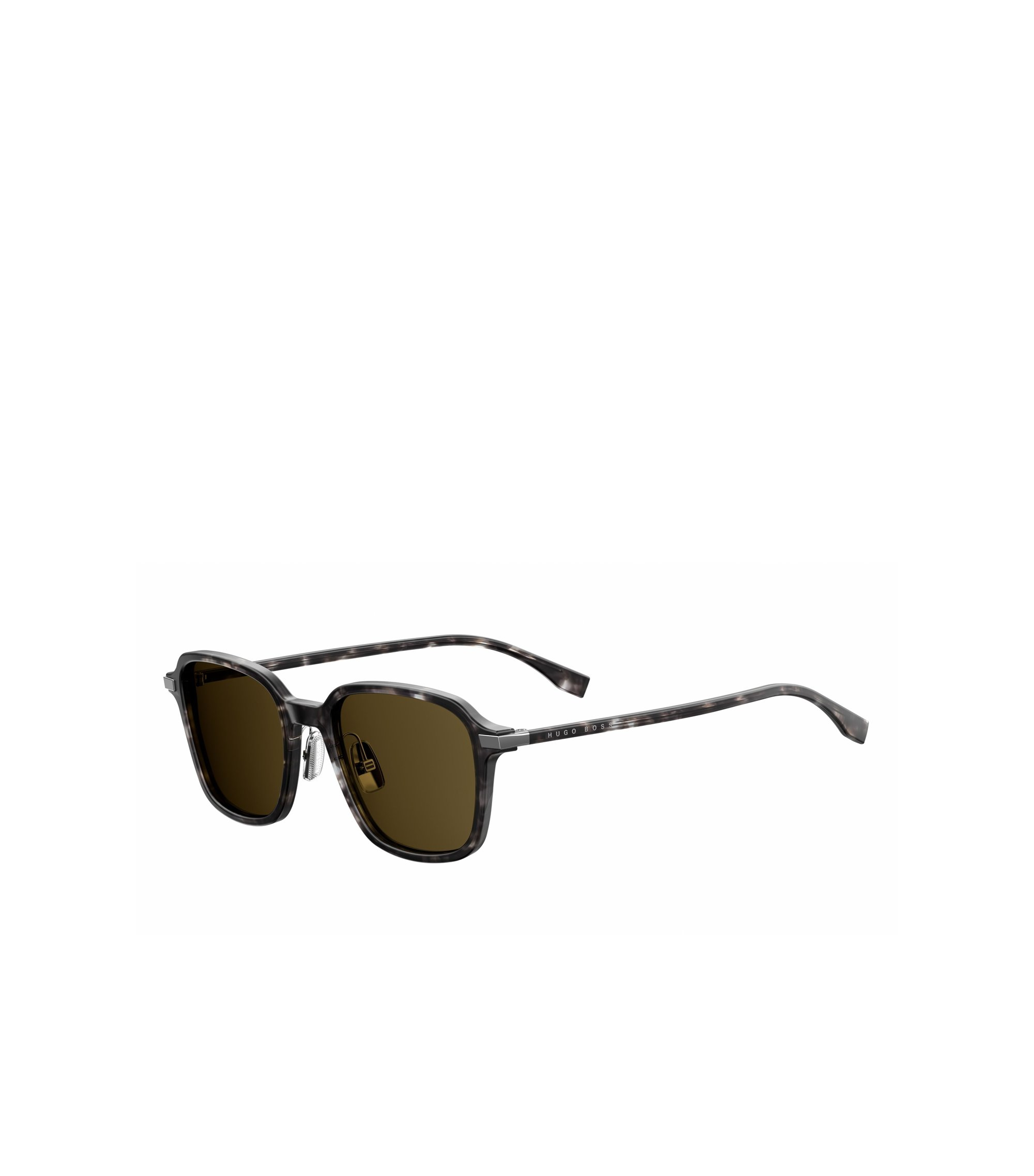 Brown Lens Havana Square Sunglasses | BOSS 0909S, Assorted-Pre-Pack