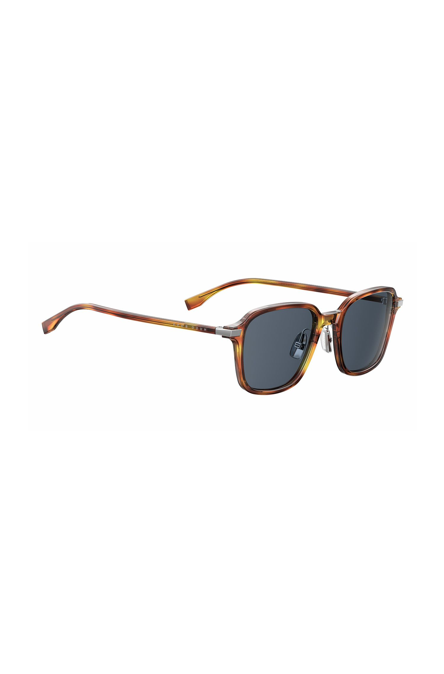 Black Lens Havana Square Sunglasses | BOSS 0909S, Assorted-Pre-Pack