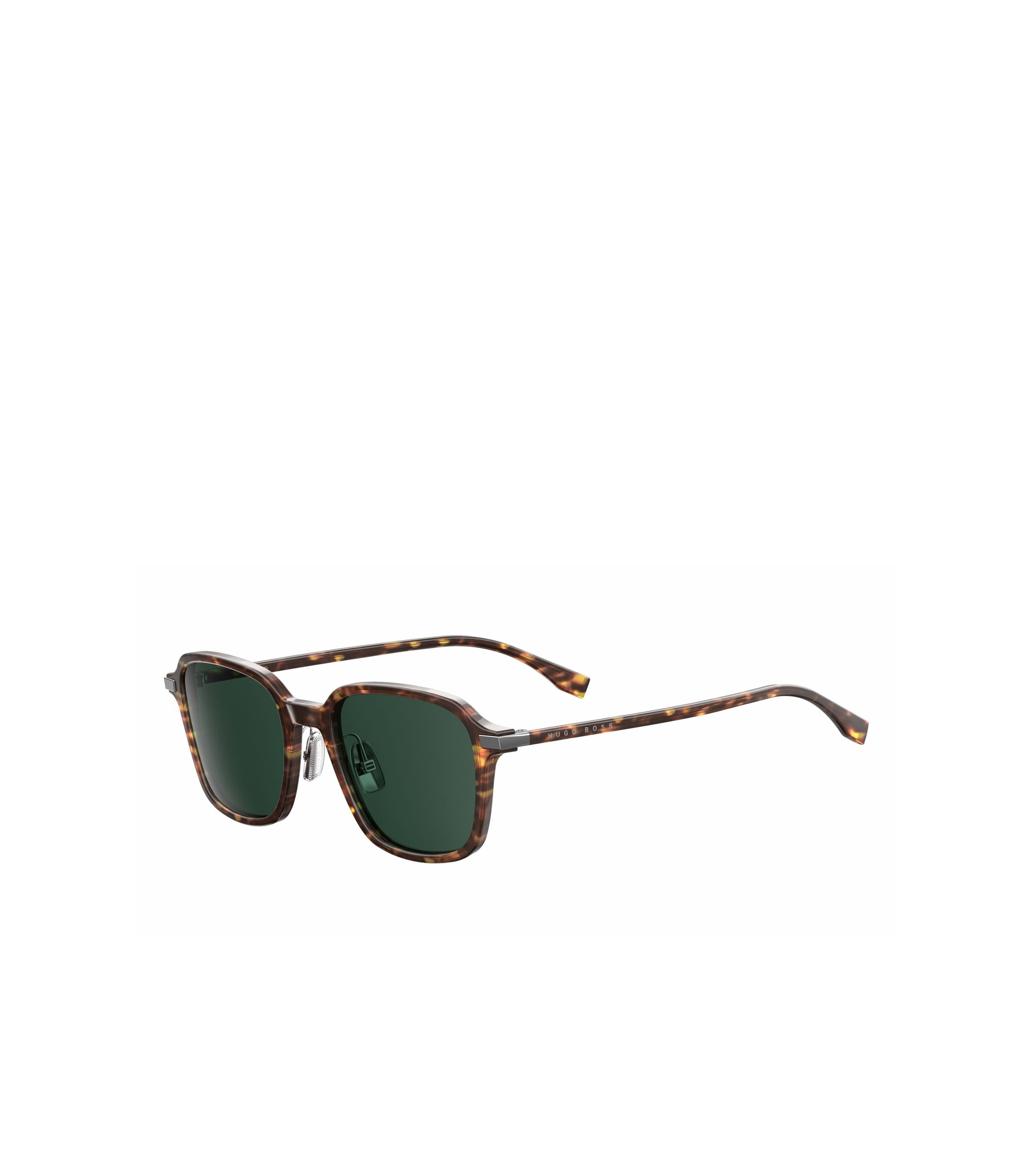 Green Lens Havana Square Sunglasses | BOSS 0909S, Assorted-Pre-Pack