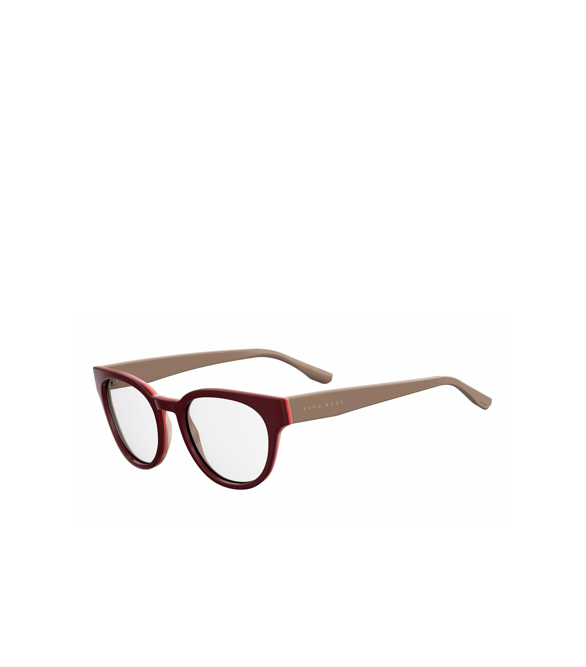 Burgundy Acetate Round Optical Frames | BOSS 0889 0U2, Assorted-Pre-Pack