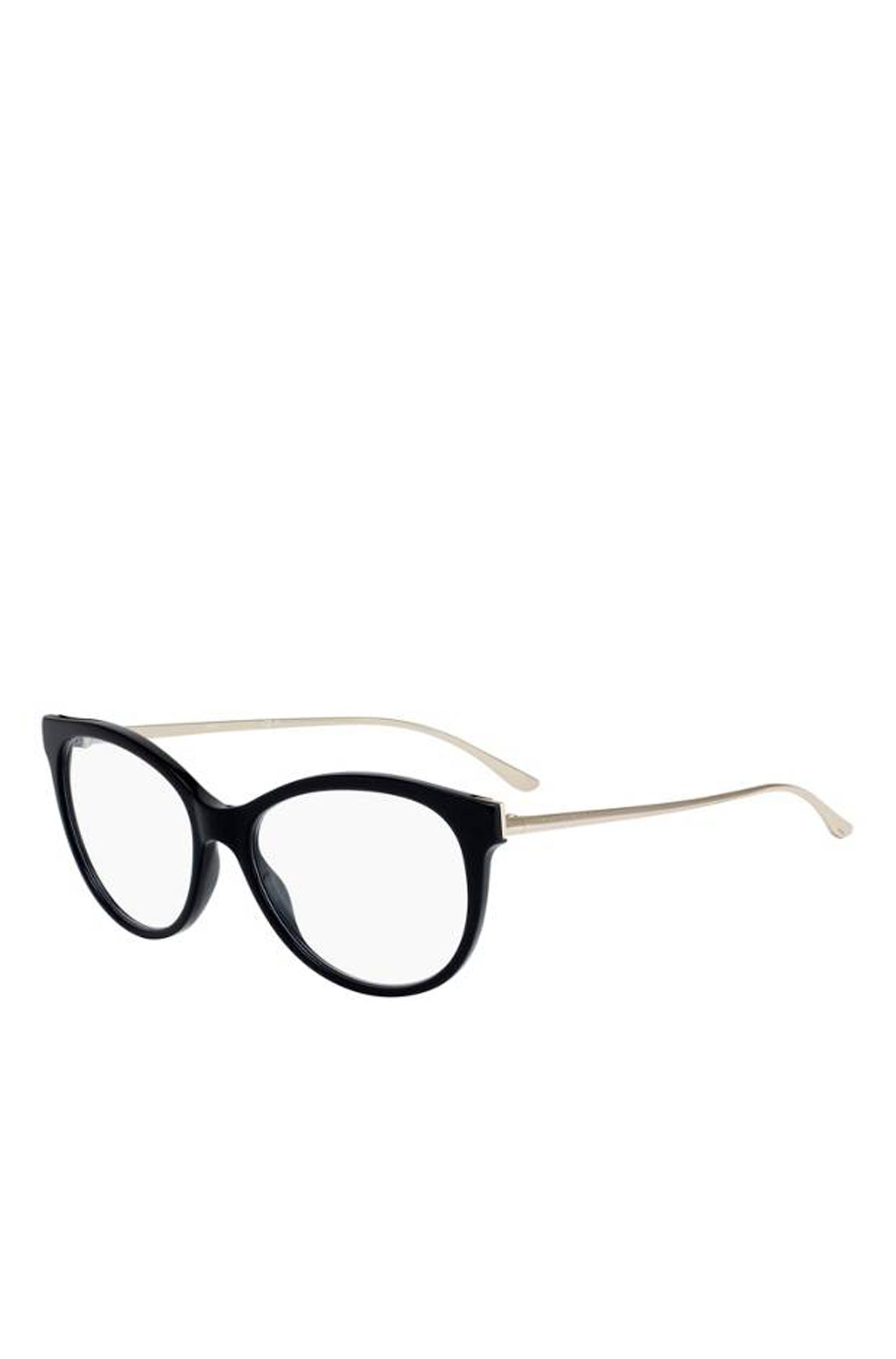'BOSS 0894 RHP' | Black Acetate Cat-Eye Optical Frames