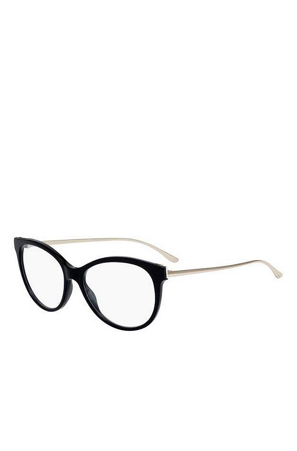 0091023654 BOSS - Black Acetate Cat-Eye Optical Frames