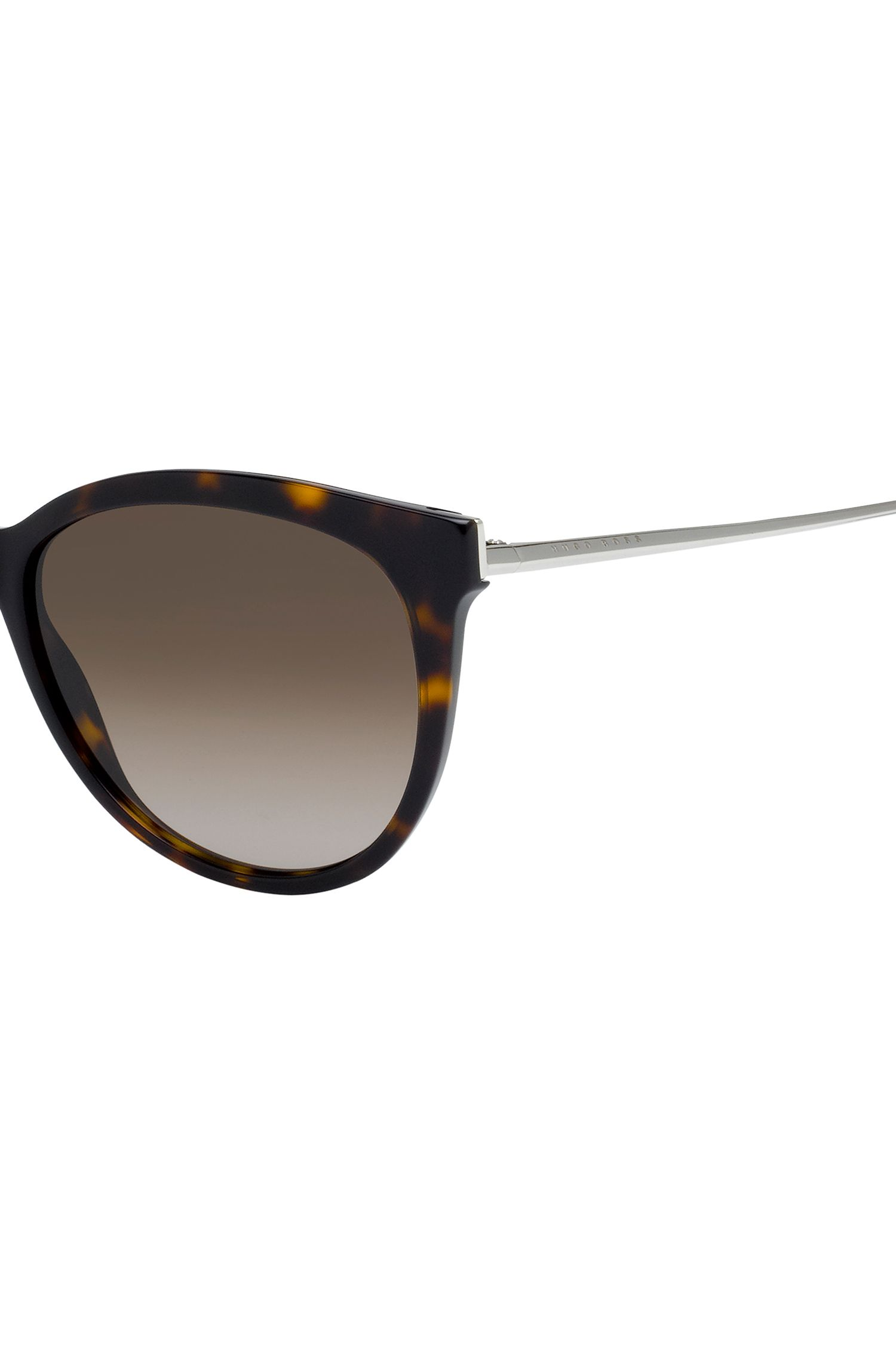 Tortoiseshell Cat-Eye Sunglasses | BOSS 0892S