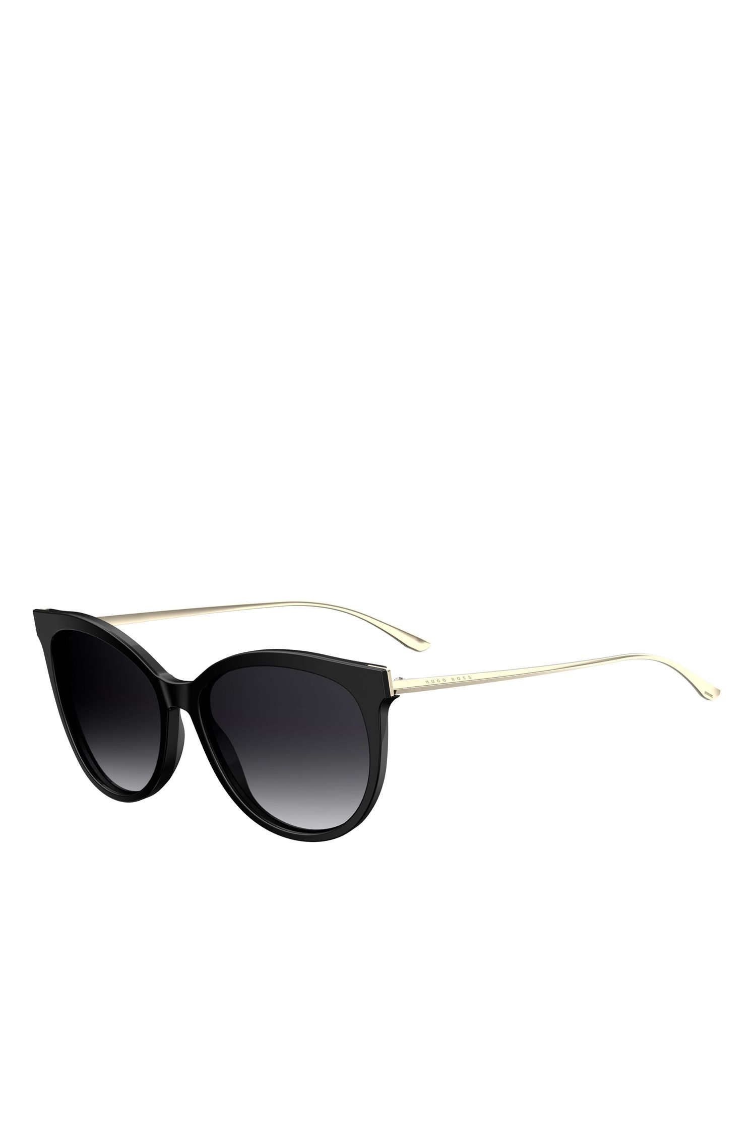 'BOSS 0892S' | Black Cat-eye Sunglasses