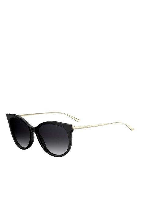 f43af2ef516 BOSS - Black Cat-eye Sunglasses