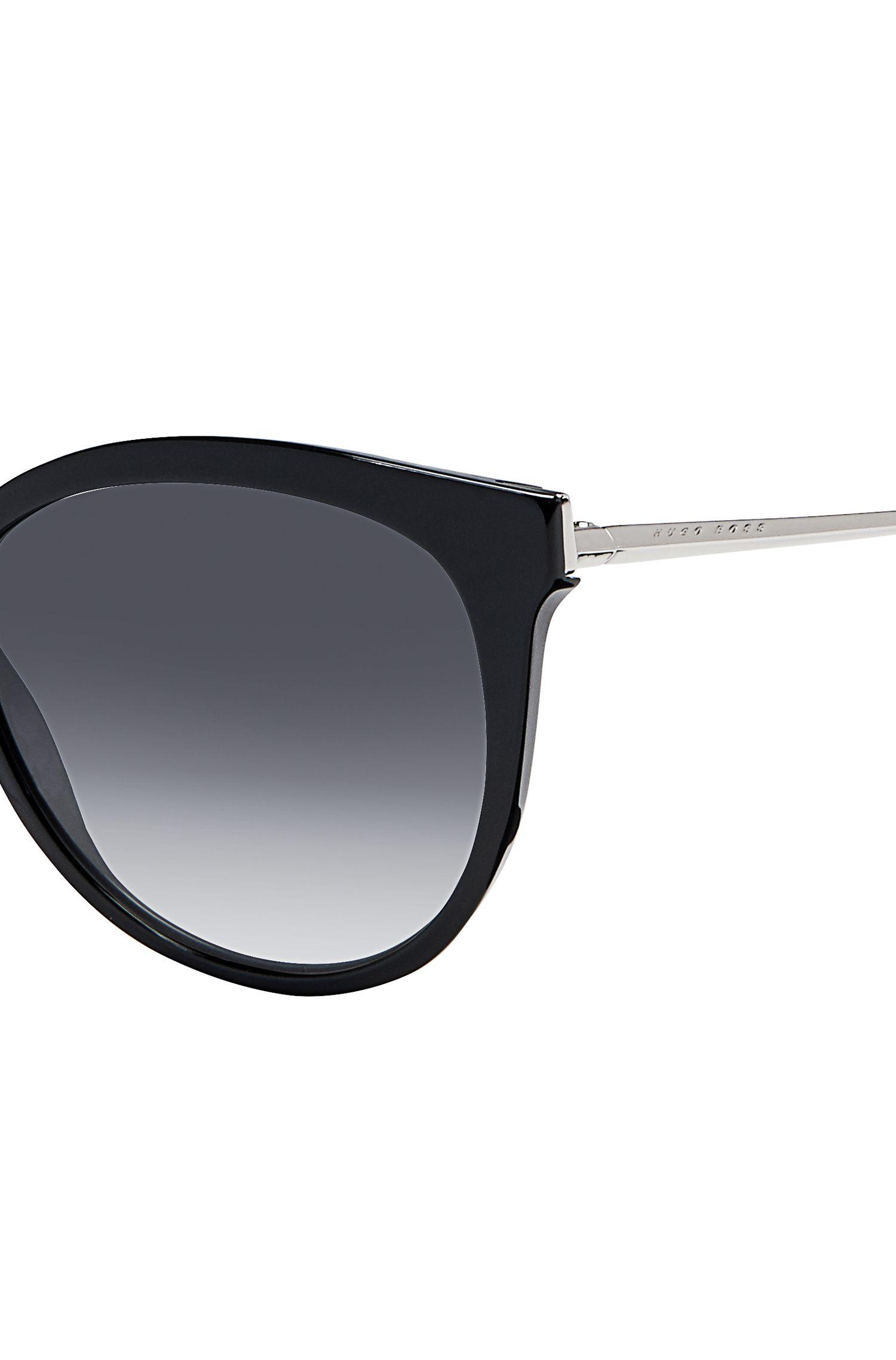 Black Cat-eye Sunglasses | BOSS 0892S