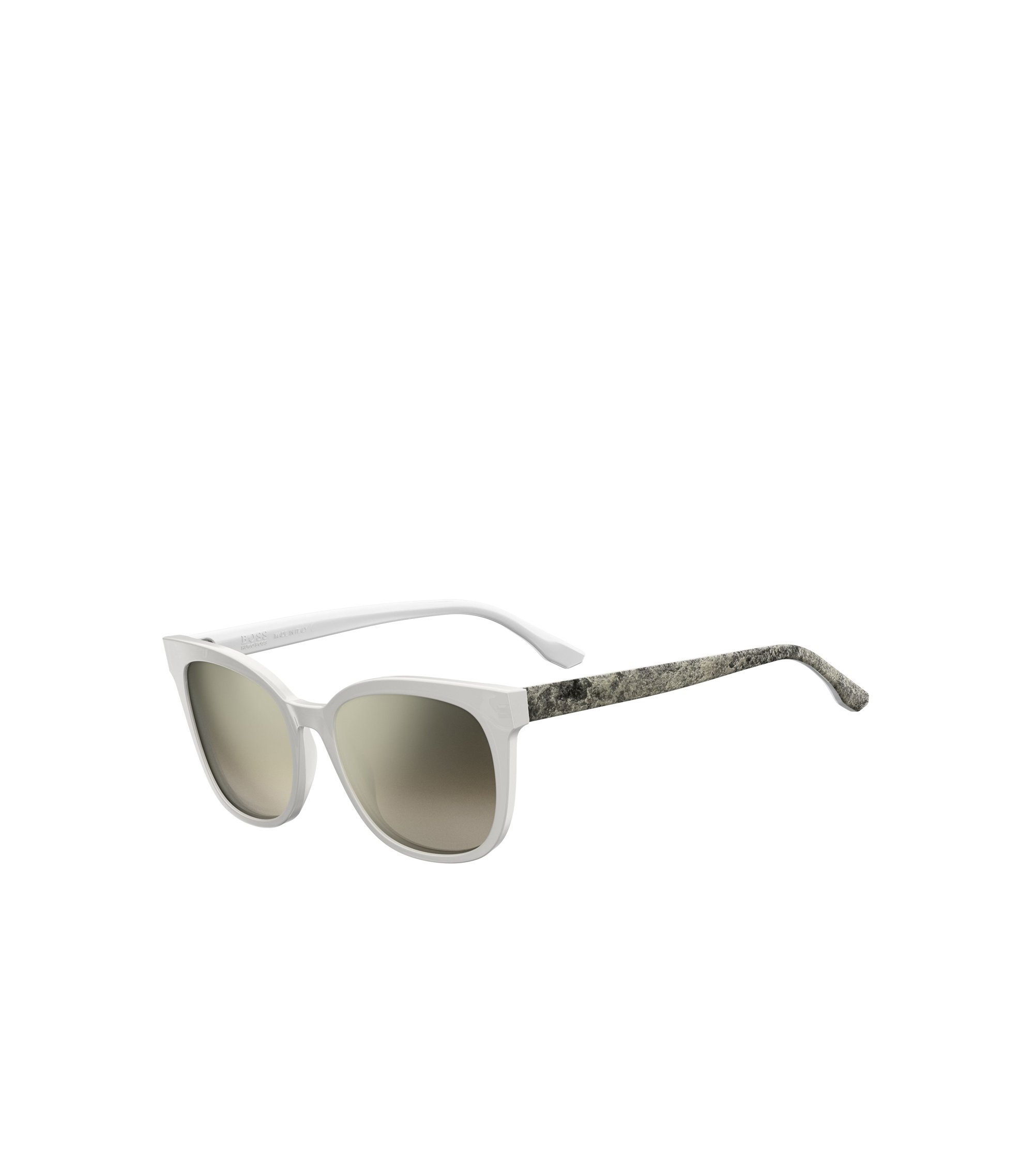 White Acetate Round Sunglasses | BOSS 0893, Assorted-Pre-Pack