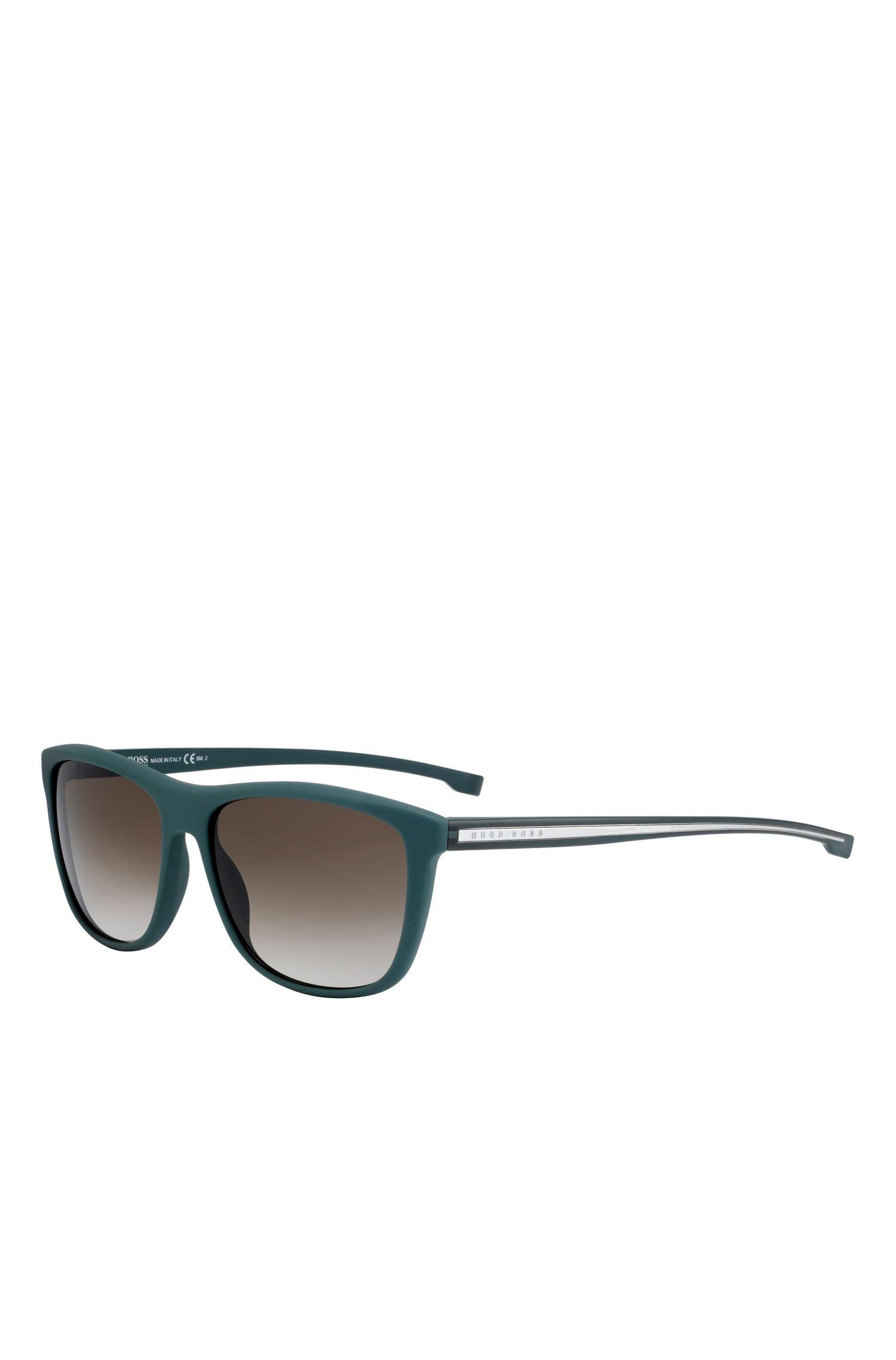 'BOSS 0874S' | Gradient Lens Top Bar Sunglasses