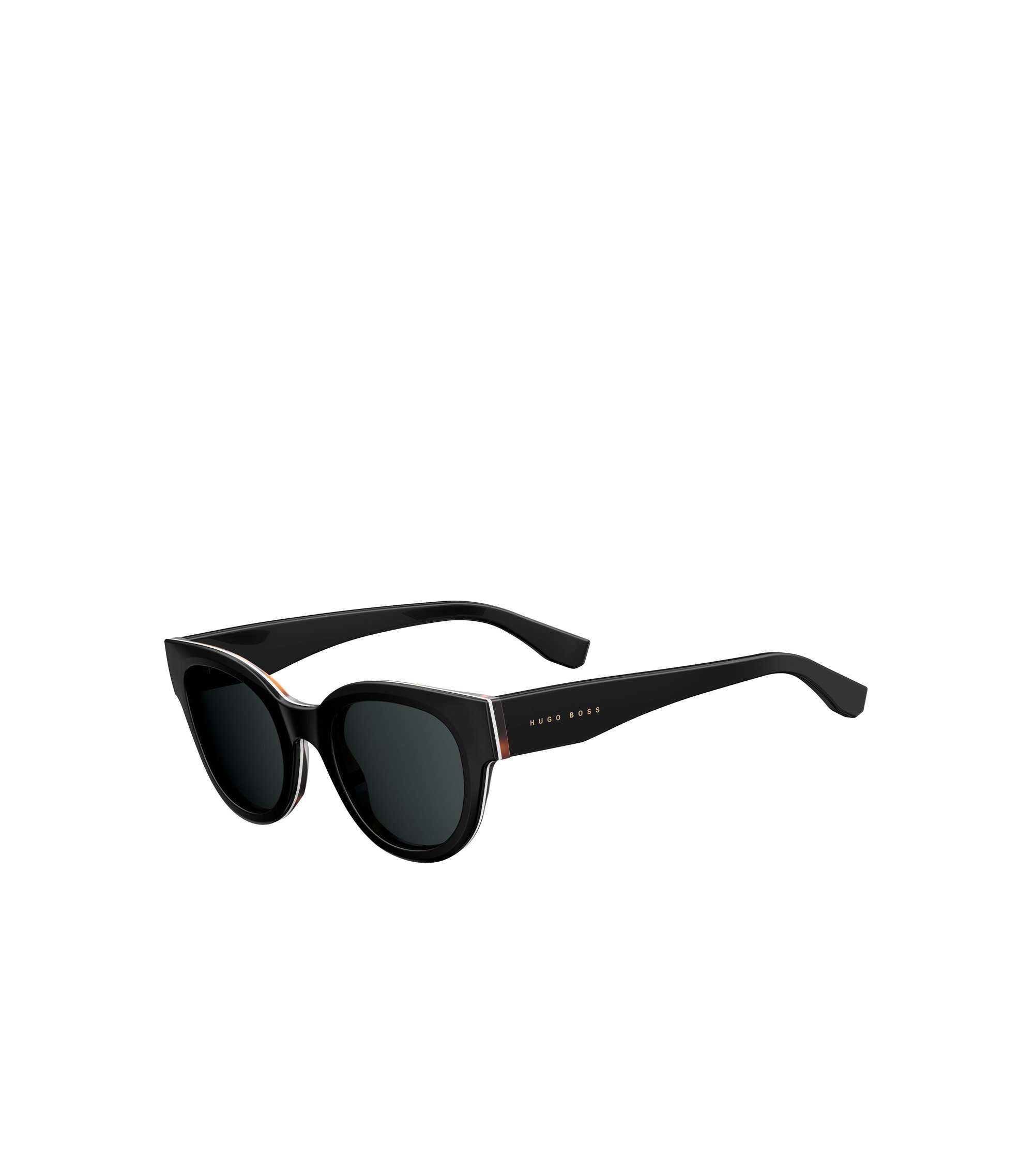 Black Lens Block Cat Eye Sunglasses | BOSS 0888S, Assorted-Pre-Pack