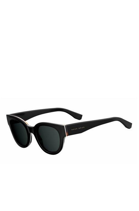 131345d97b4 BOSS - Black Lens Block Cat Eye Sunglasses