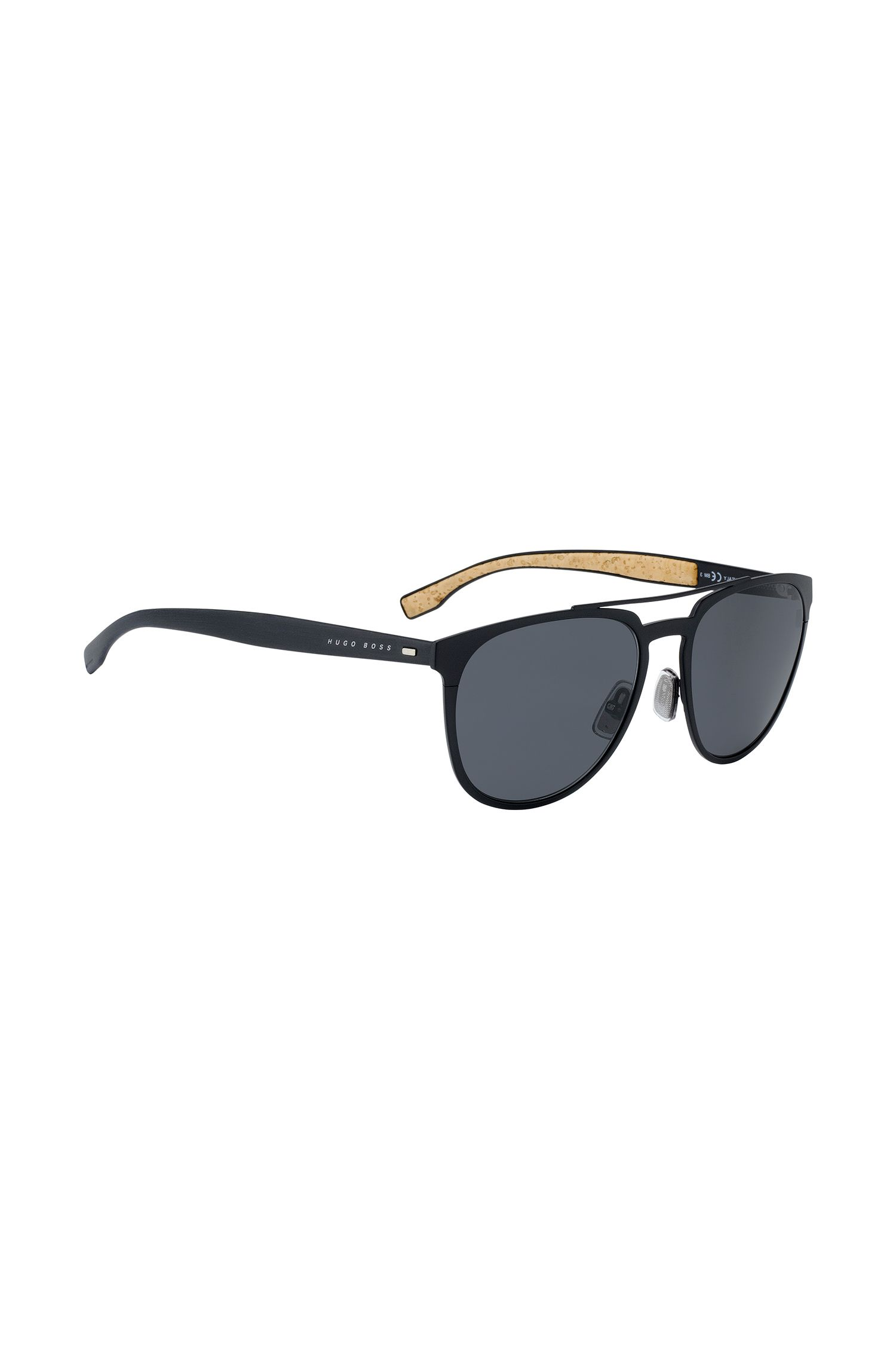 Dark Grey Metal Round Sunglasses | BOSS 0882S, Assorted-Pre-Pack