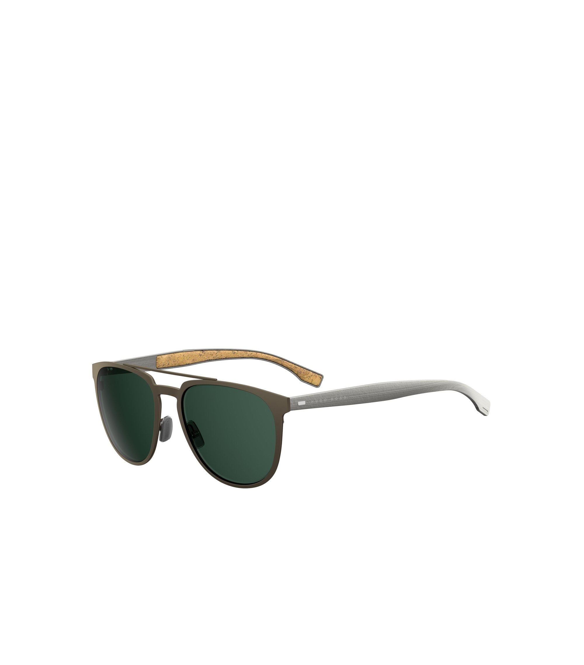 Dark Brown Round Metal Sunglasses | BOSS 0882S, Assorted-Pre-Pack