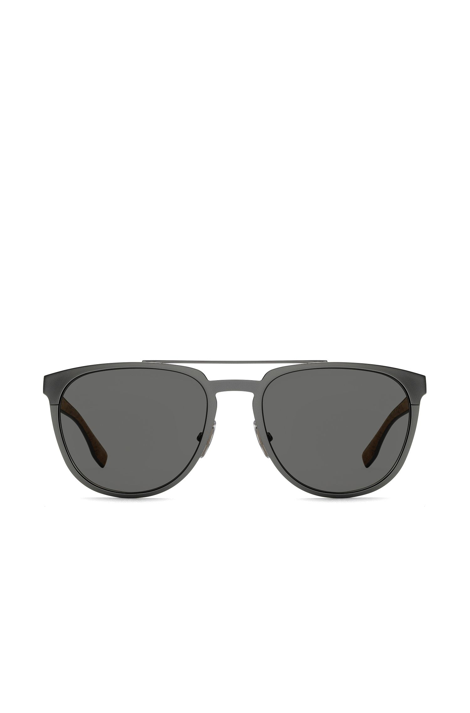 Silver Round Metal Sunglasses | BOSS 0882S, Assorted-Pre-Pack