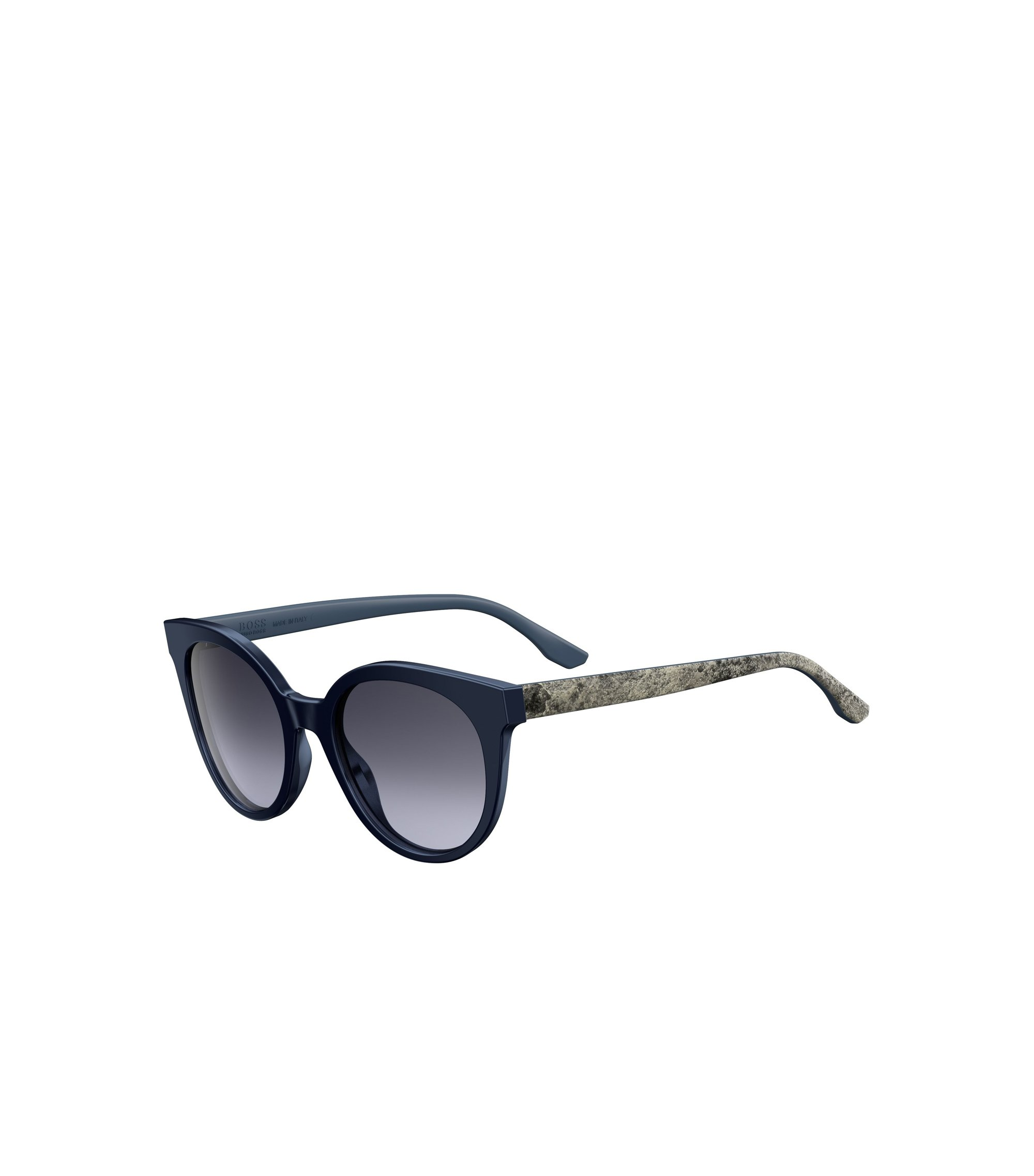 Tortoiseshell Acetate Round Sunglasses | BOSS 0890, Assorted-Pre-Pack