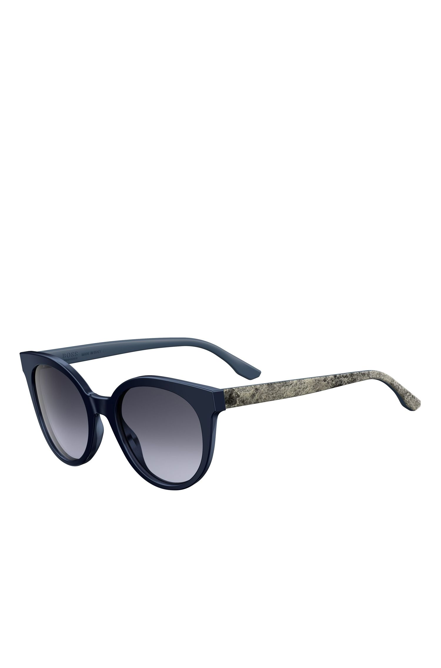 Tortoiseshell Acetate Round Sunglasses | BOSS 0890, Assorted-Pre-Pack