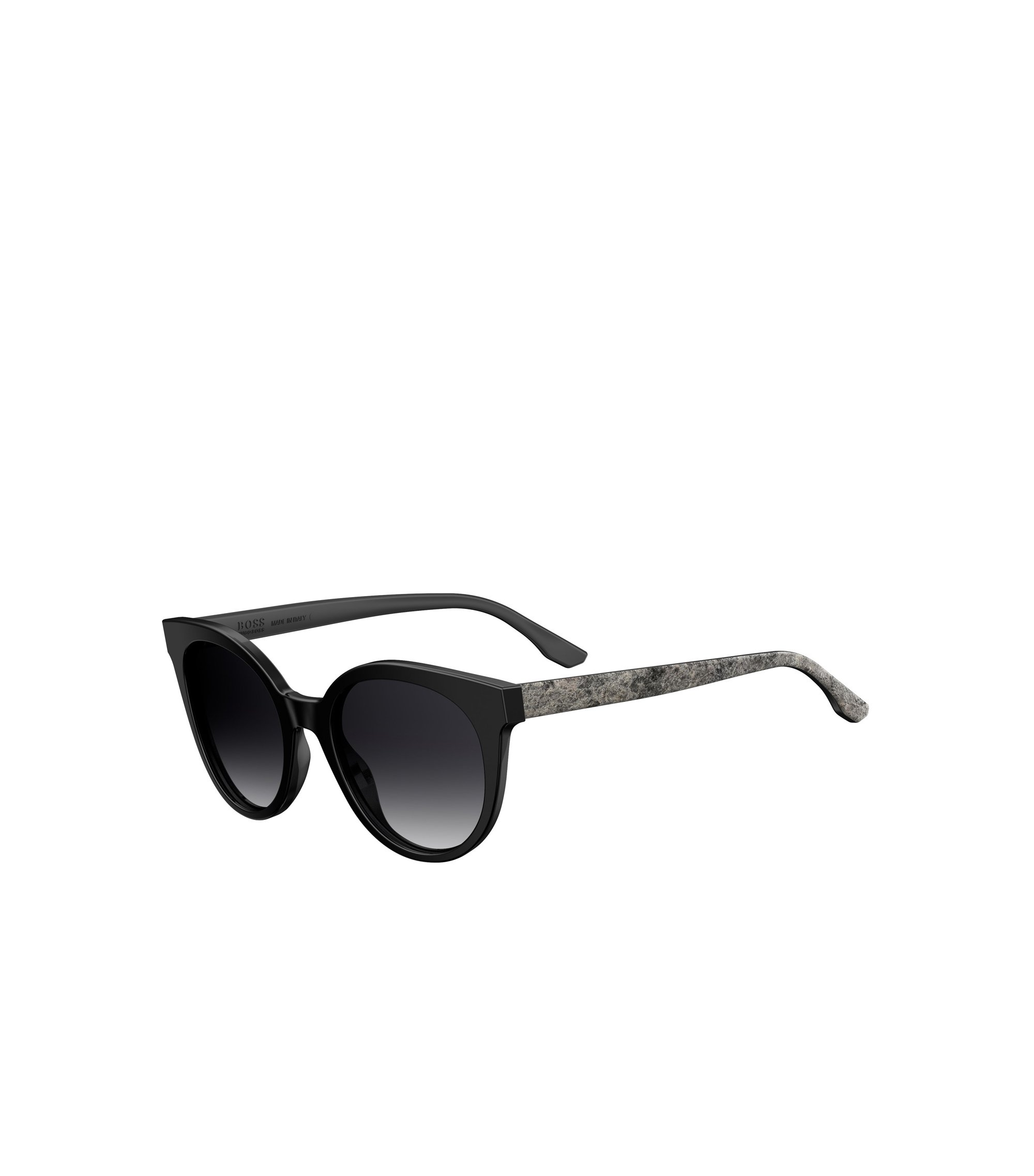 Black Acetate Round Sunglasses | BOSS 0890S, Assorted-Pre-Pack
