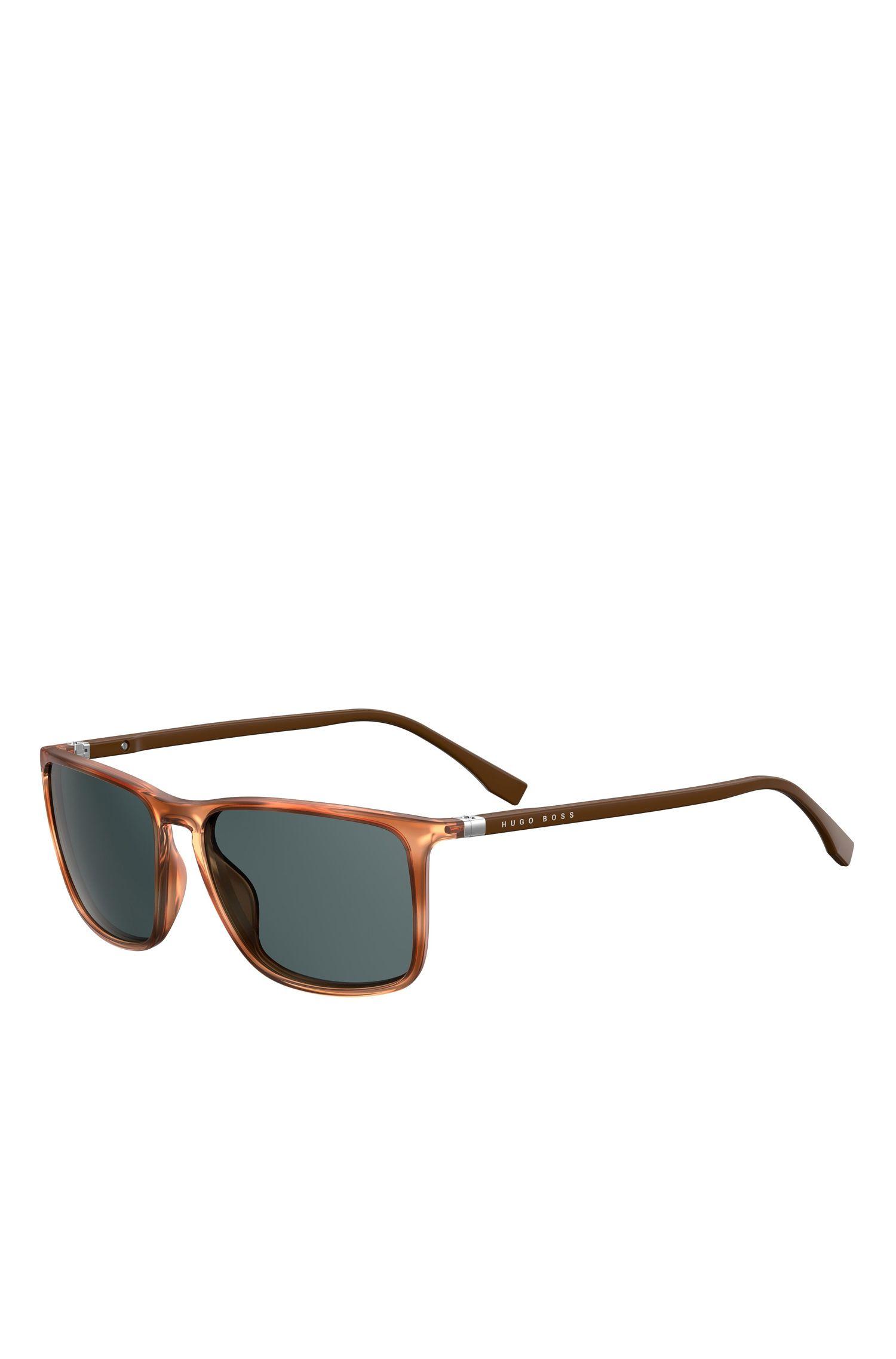 'BOSS 0665S' | Grey Lens Rectangular Sunglasses