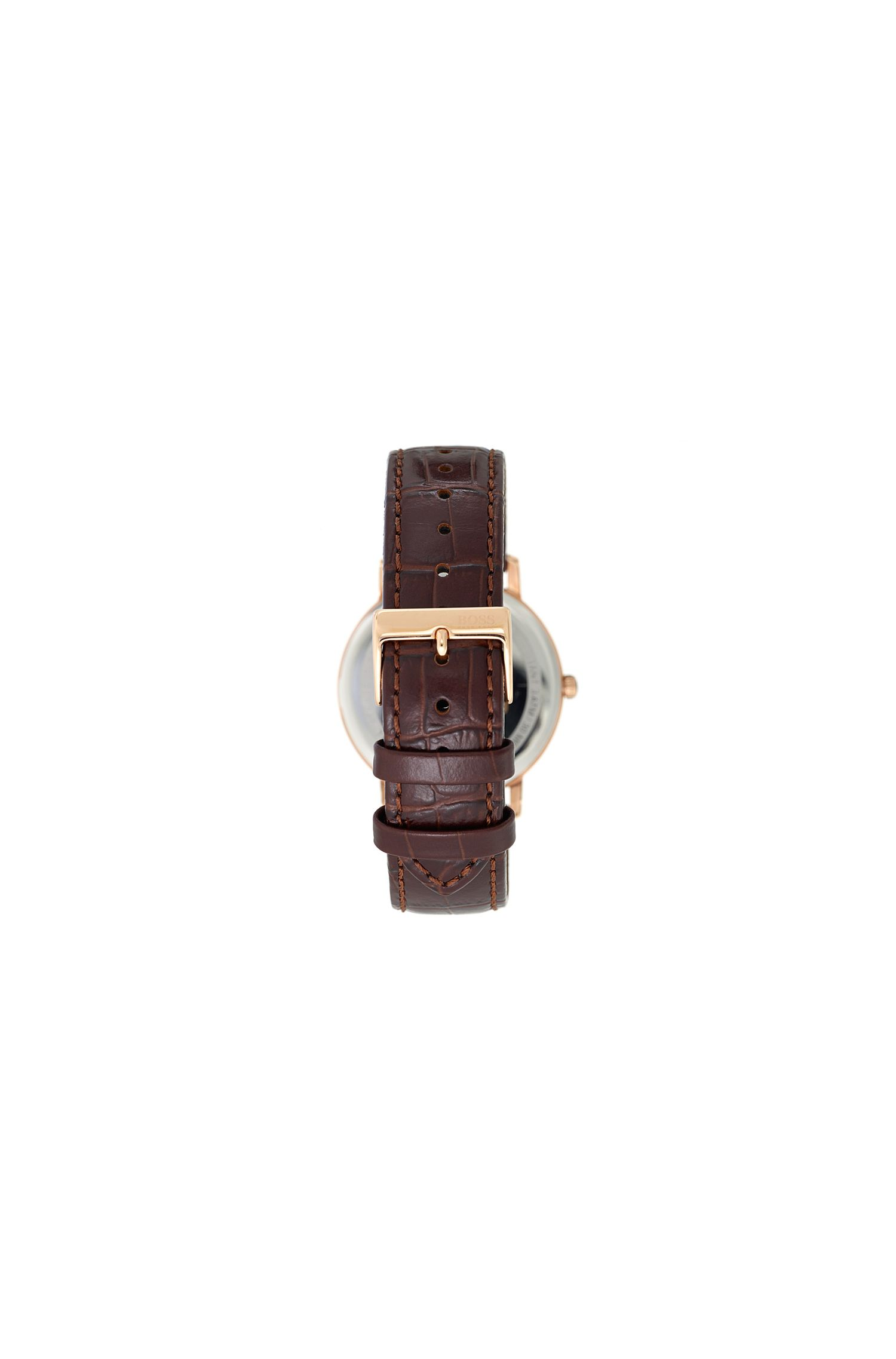 Tradition, Leather Strap Swiss Quartz Watch | 1513463, Assorted-Pre-Pack