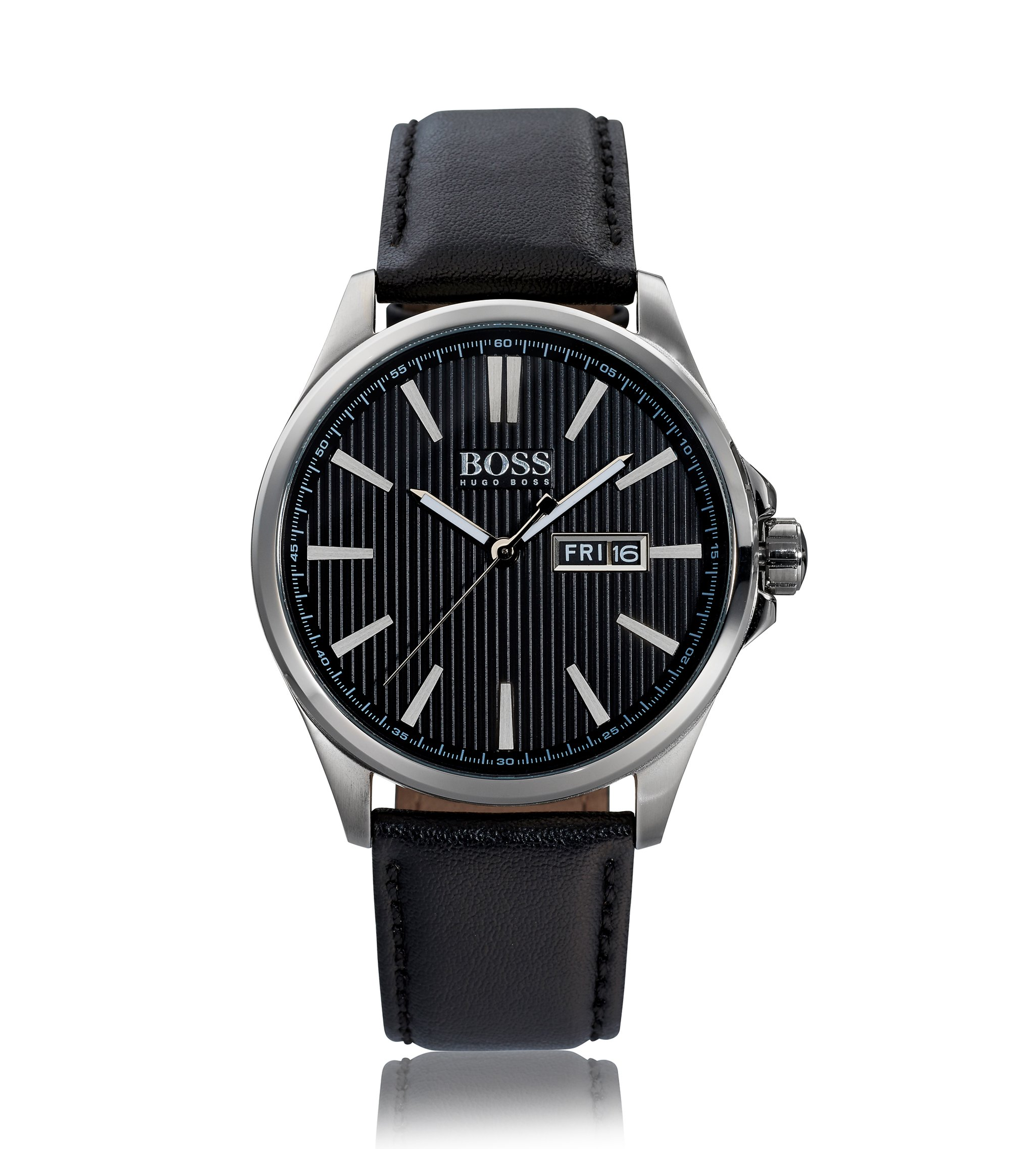 The James, Leather Strap Watch | 1513464 , Assorted-Pre-Pack