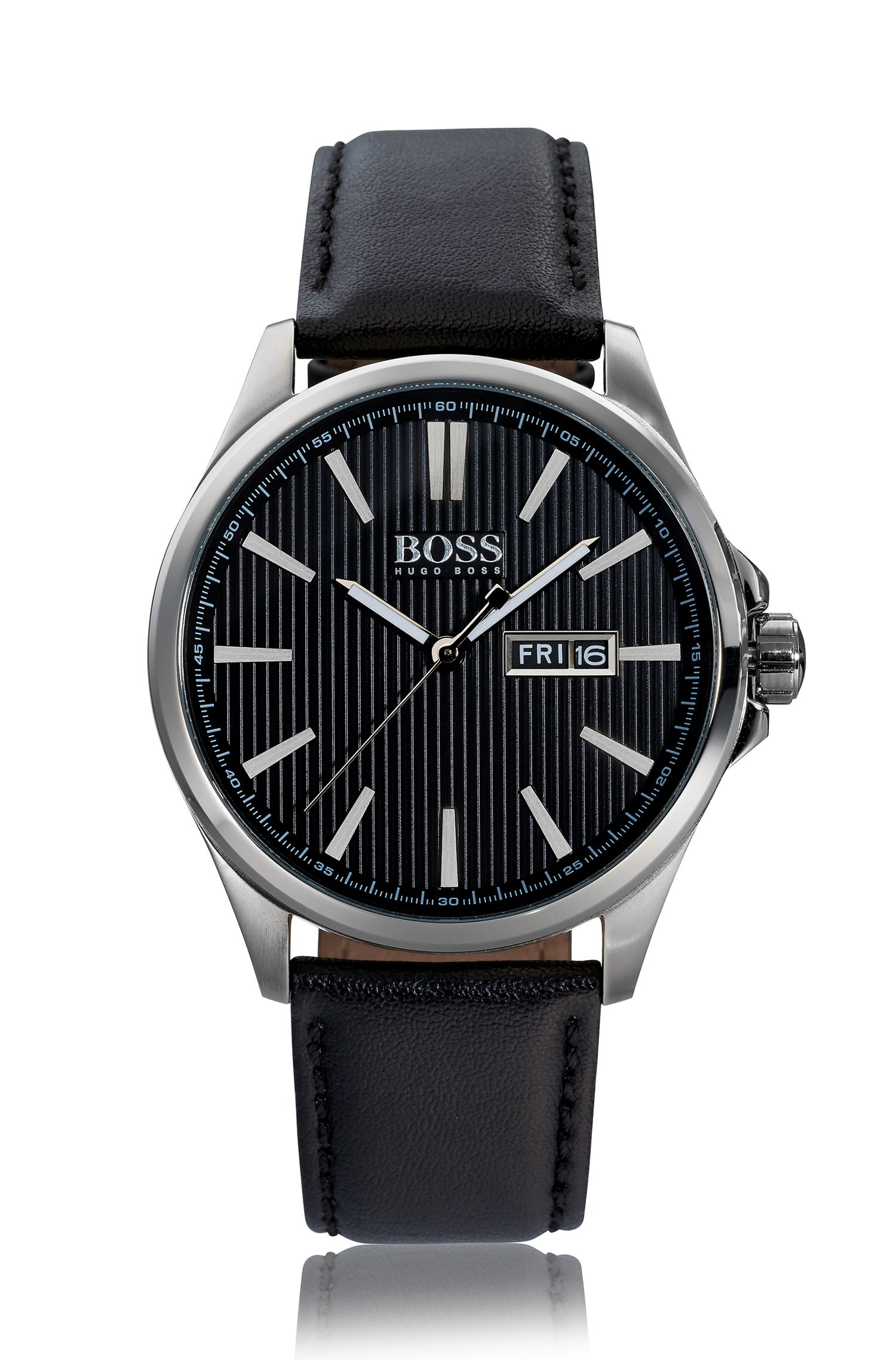 The James, Leather Strap Watch | 1513464