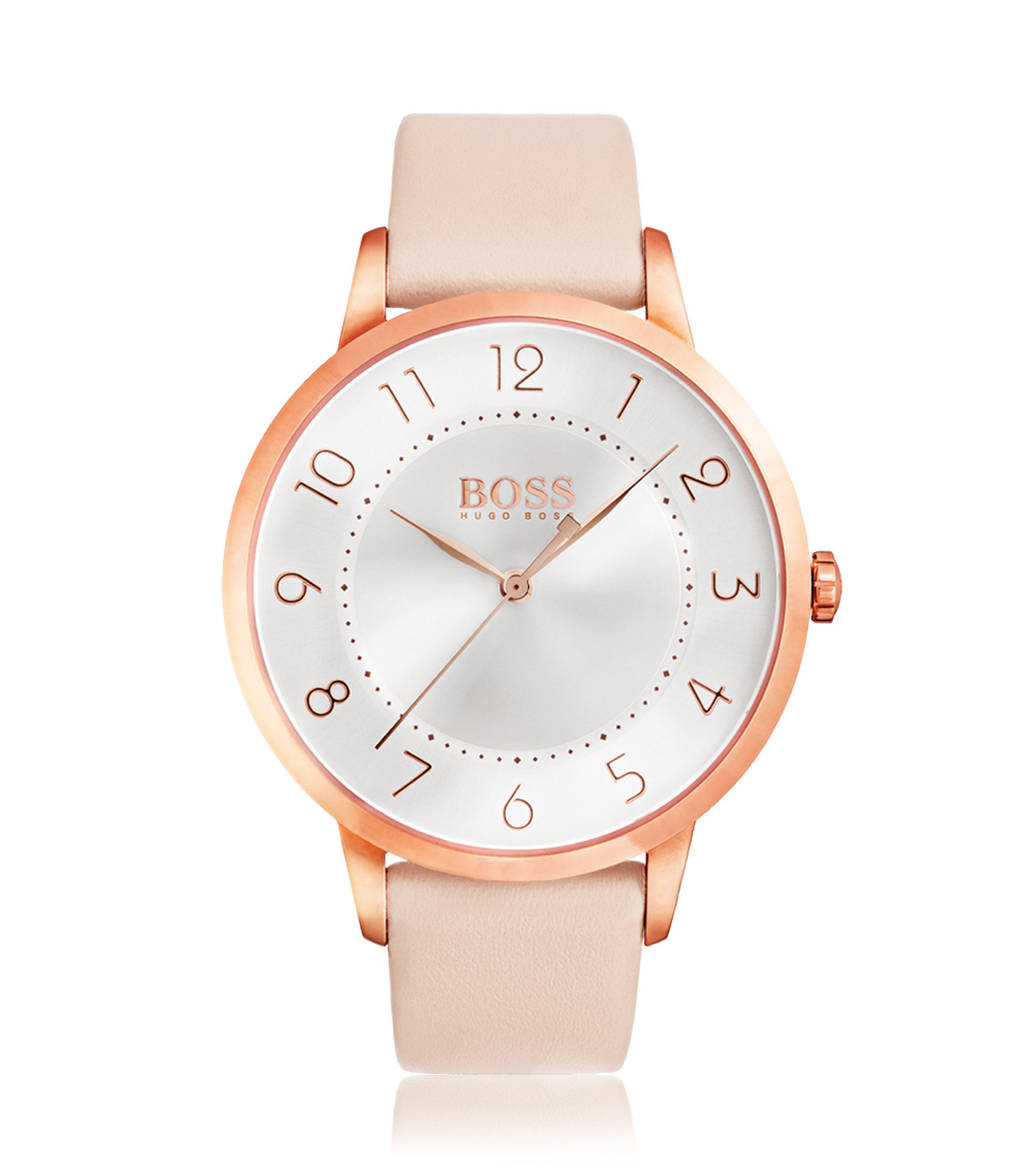 Eclipse, Rose Gold–Tone & Leather Watch | 1502407, Assorted-Pre-Pack