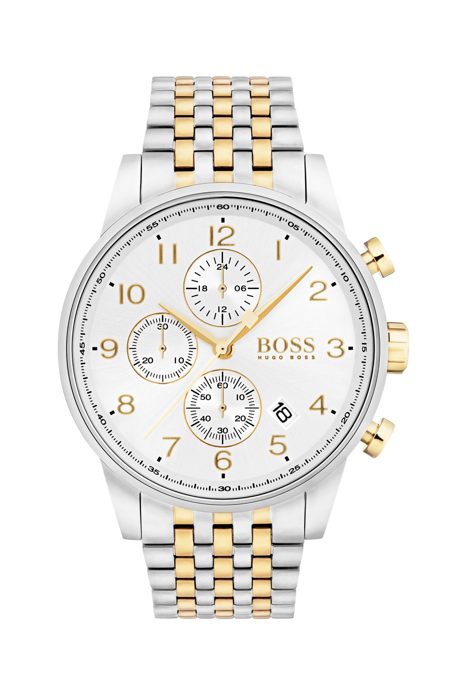 Navigator Classic, Stainless Steel Chronograph Watch | 1513499