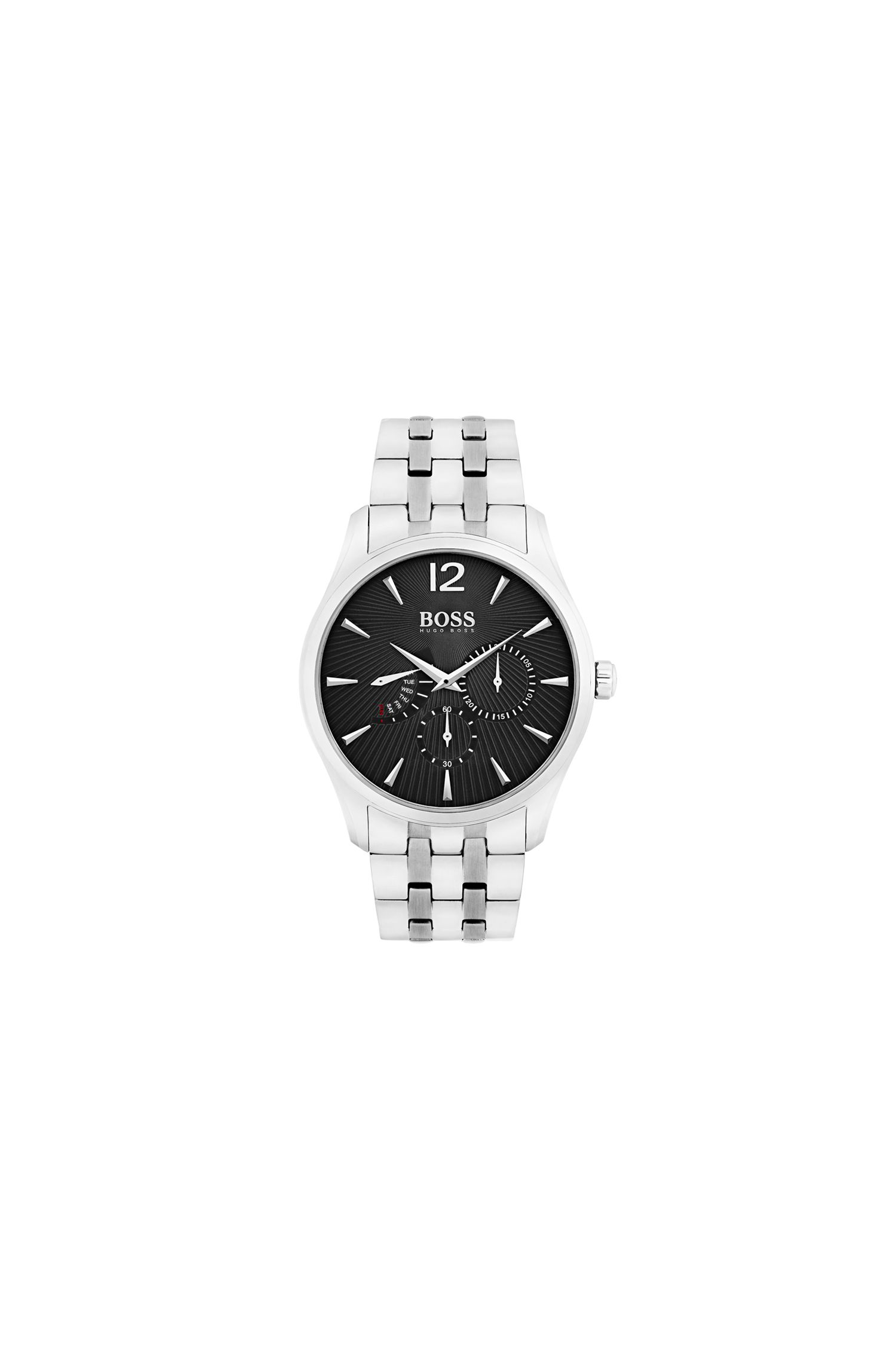 '1513493' | Commander, Stainless Steel Chronograph Watch