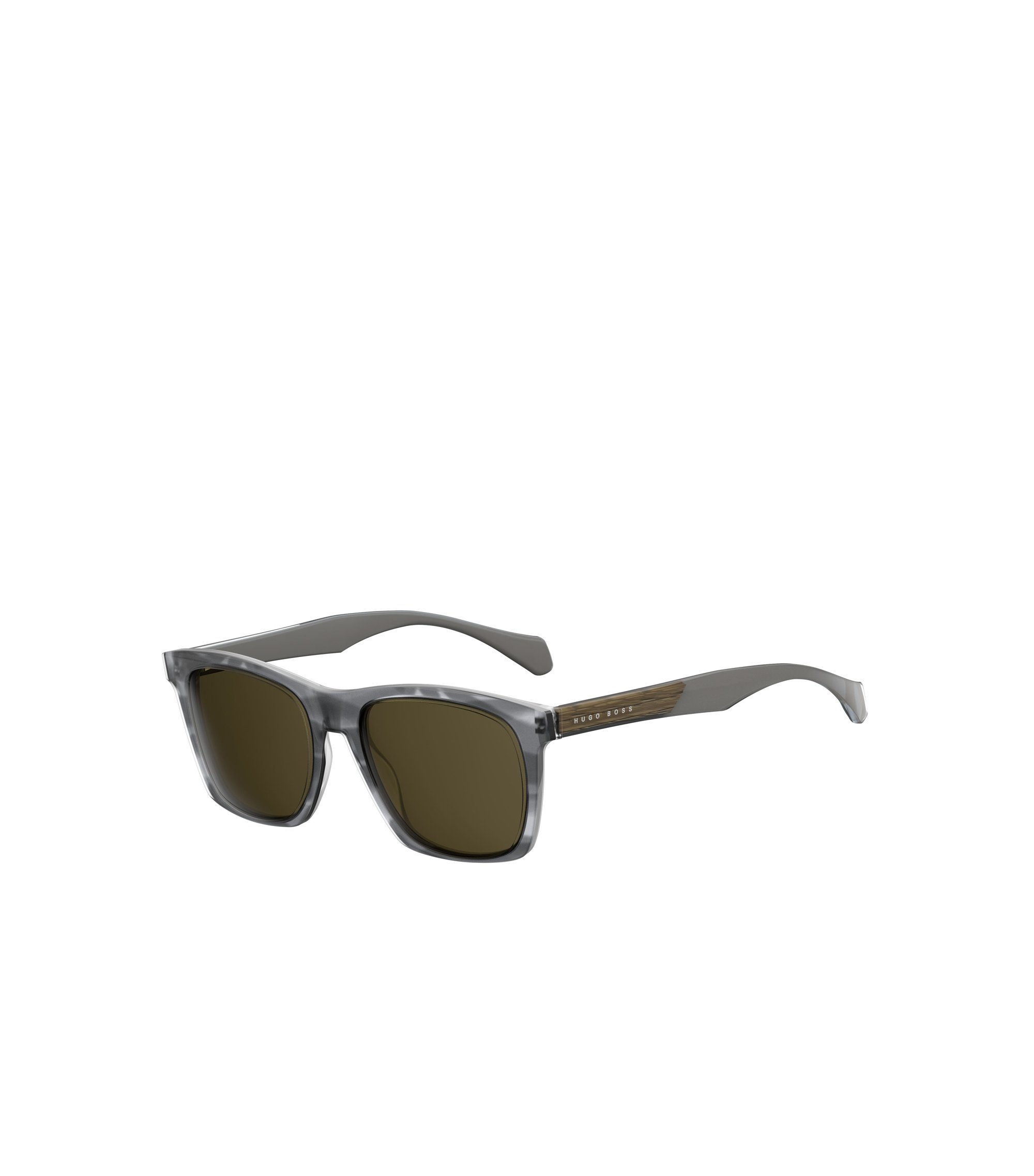 Grey Acetate Rectangular Sunglasses | BOSS 0911/S, Assorted-Pre-Pack