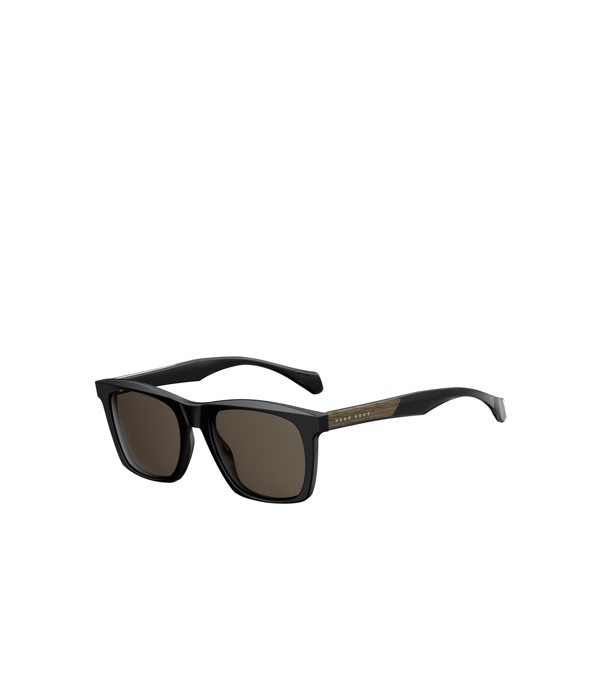 Black Acetate Rectangular Sunglasses | BOSS 0911/S, Assorted-Pre-Pack