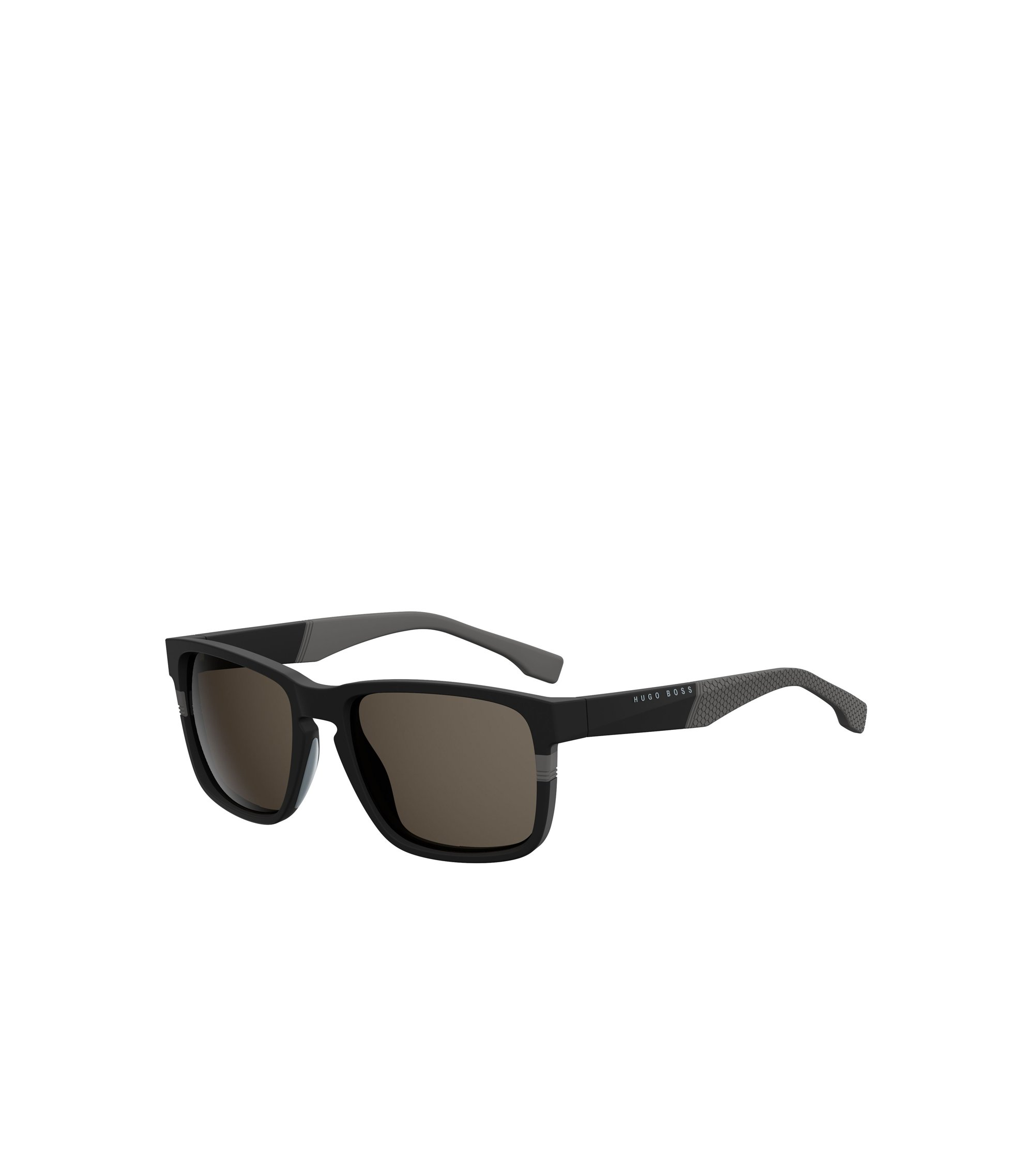 Black Rectangular Acetate Sunglasses | BOSS 0916/S, Assorted-Pre-Pack