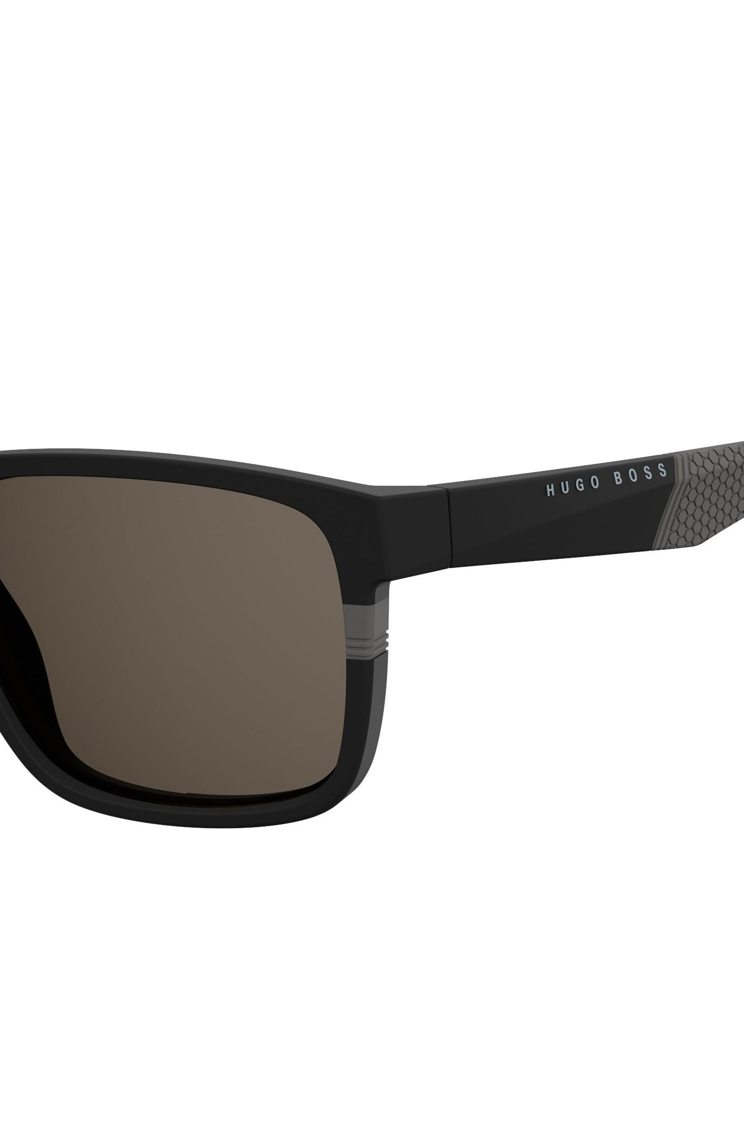 Black Rectangular Acetate Sunglasses | BOSS 0916/S, Assorted-Pre-Pack
