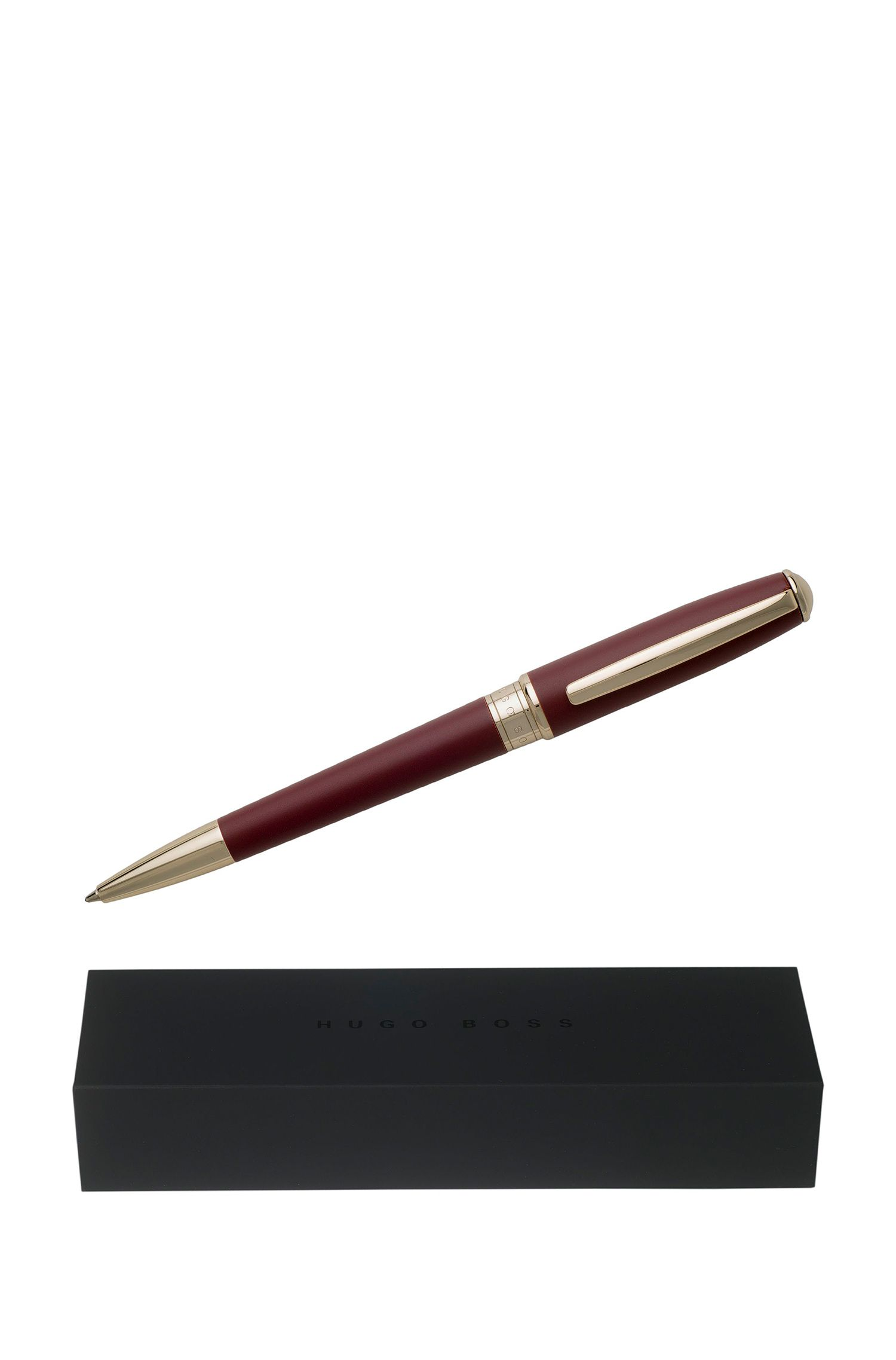 Essential Burgundy Ballpoint Pen , Dark Red