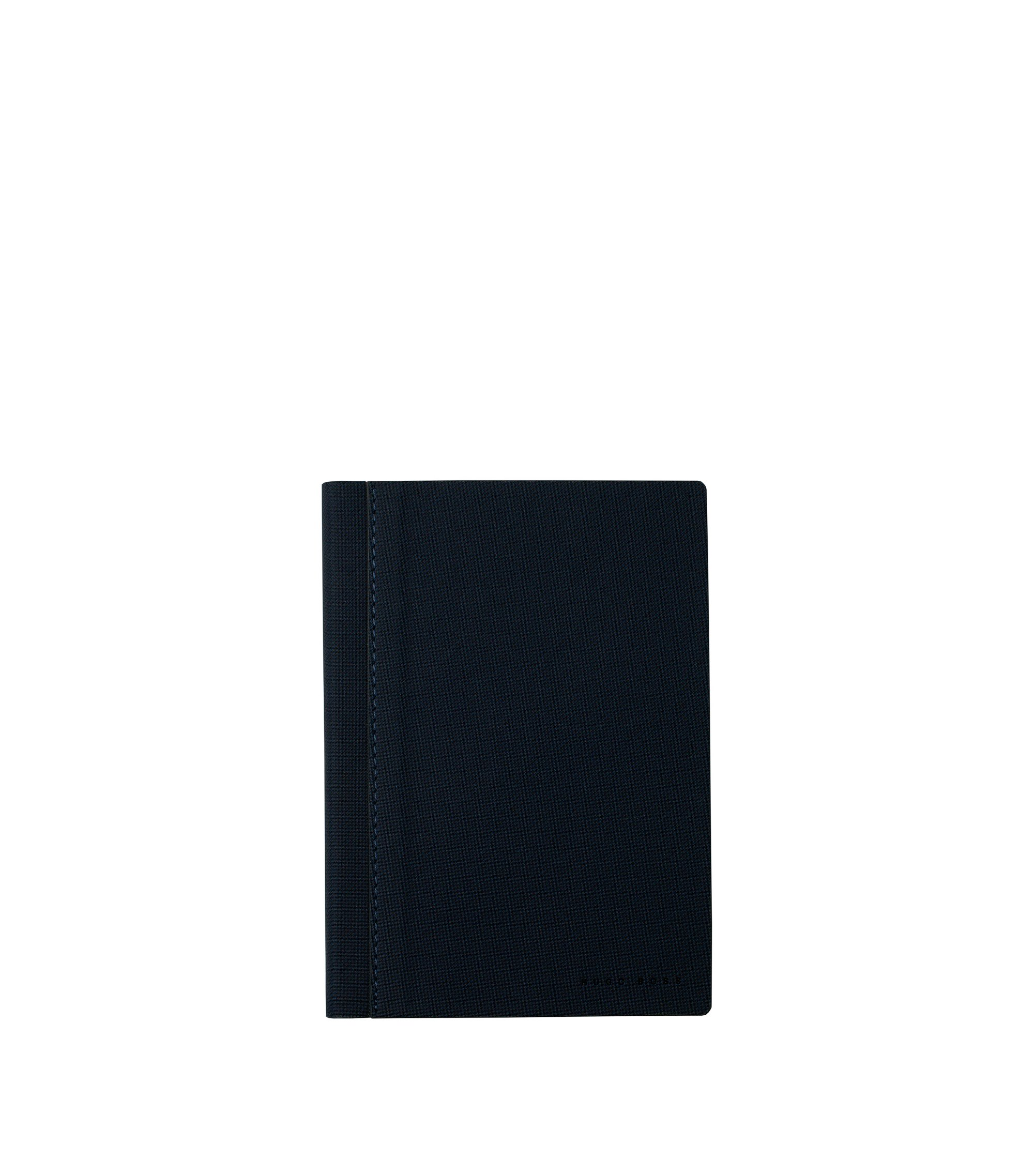 Advance Fabric Blue A6 Notepad , Blue