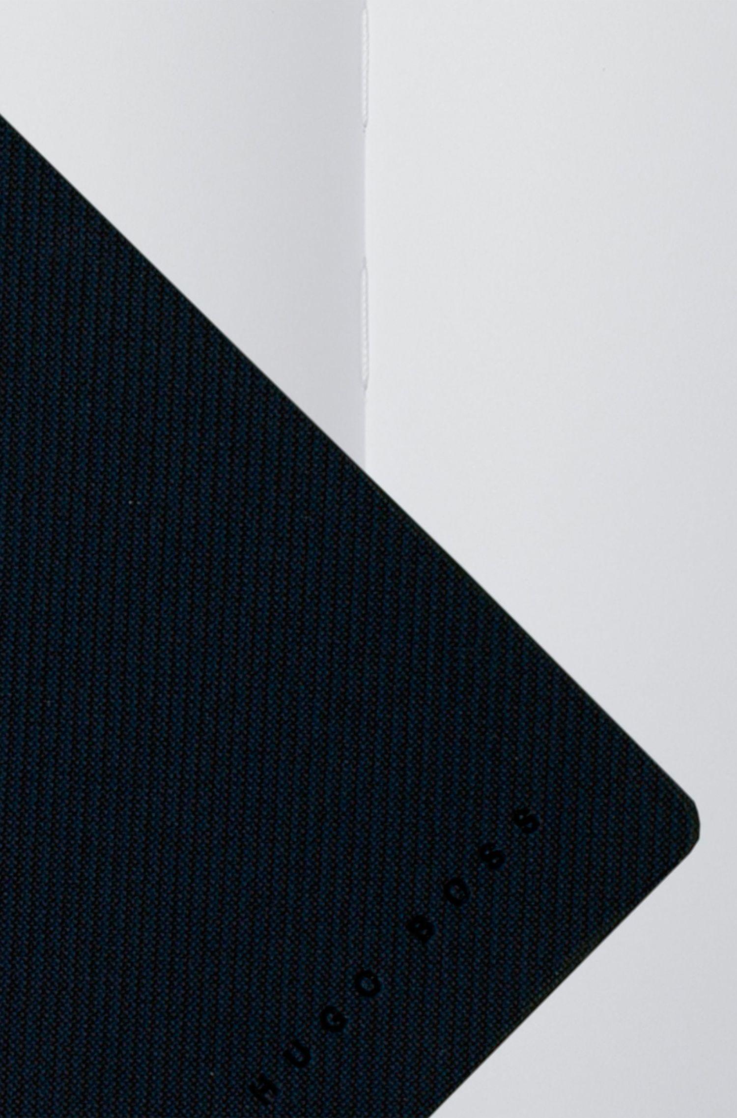 Advance Fabric Blue A6 Notepad , Blue