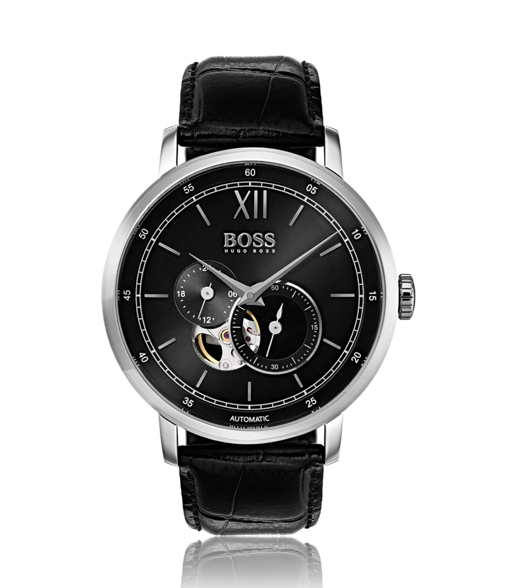 Signature Timepiece Classic, Leather Strap Watch | 1513504, Assorted-Pre-Pack