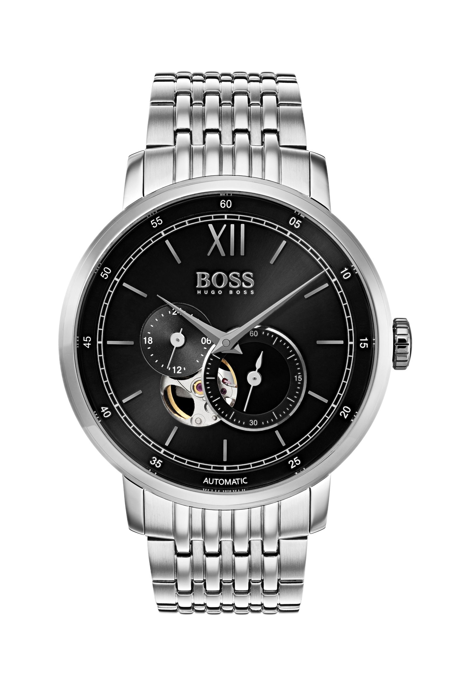 Signature Timepiece Classic, Stainless Steel Watch | 1513507