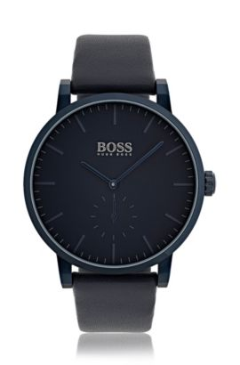 Essence, Leather Strap Watch | 1513502 , Assorted-Pre-Pack