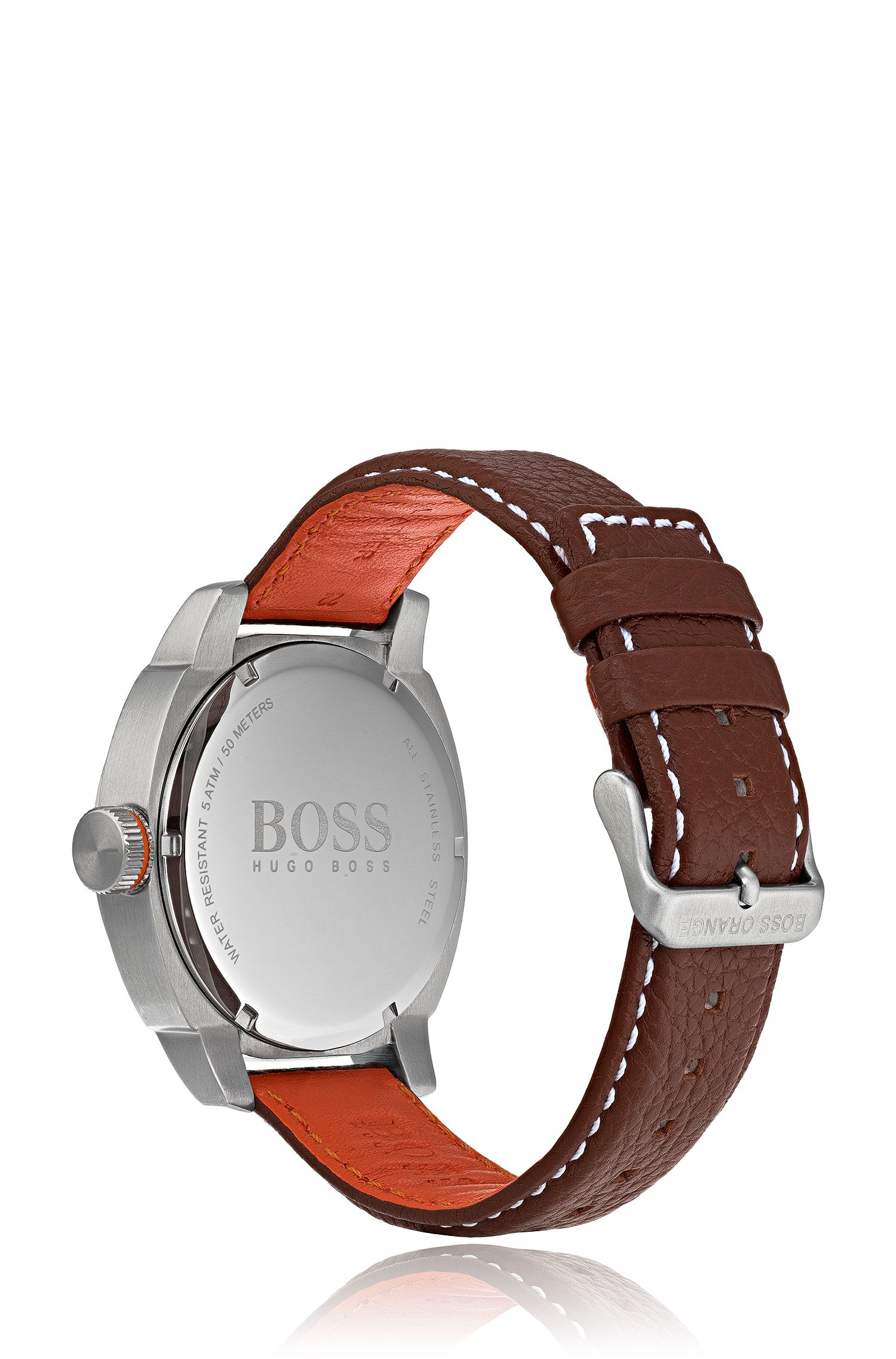 Cape Town Casual, Leather Strap Watch | 1550027, Assorted-Pre-Pack
