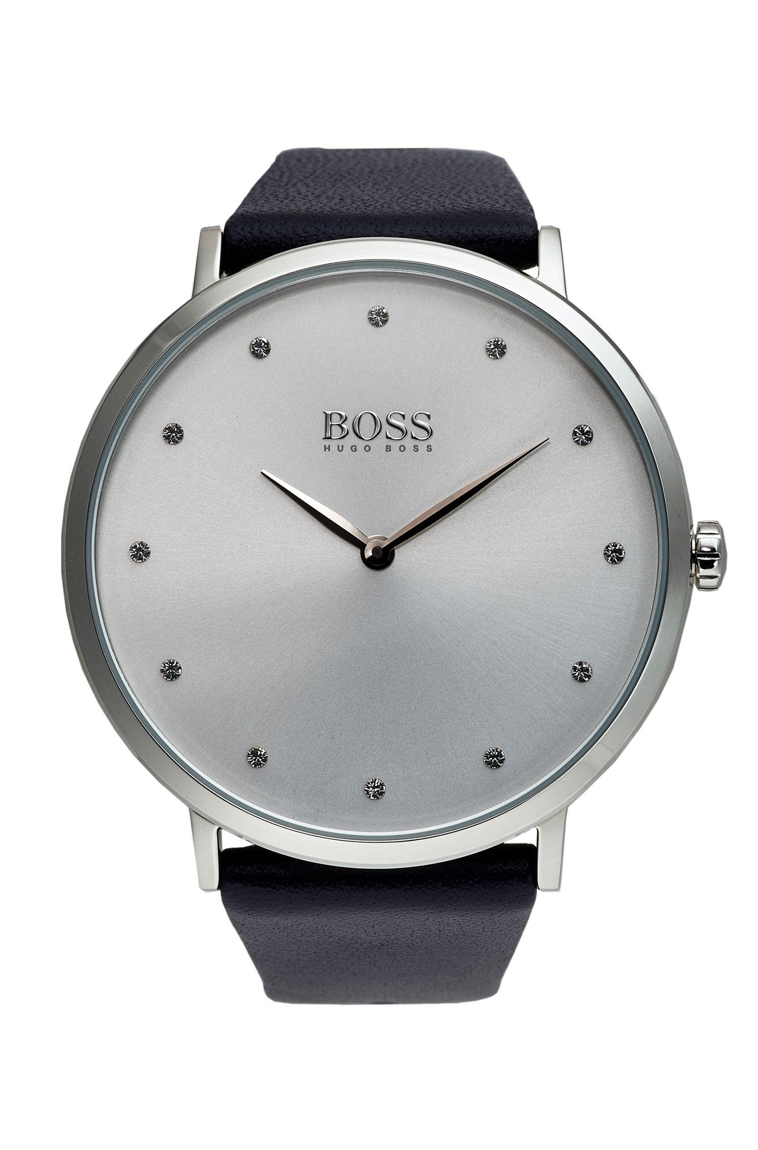 Jillian Classic, Leather Strap Watch   1502410