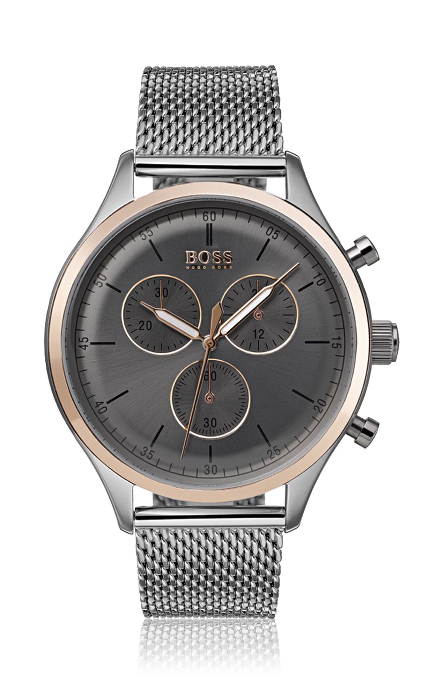 Companion, Stainless Steel Chronograph Watch | 1513549