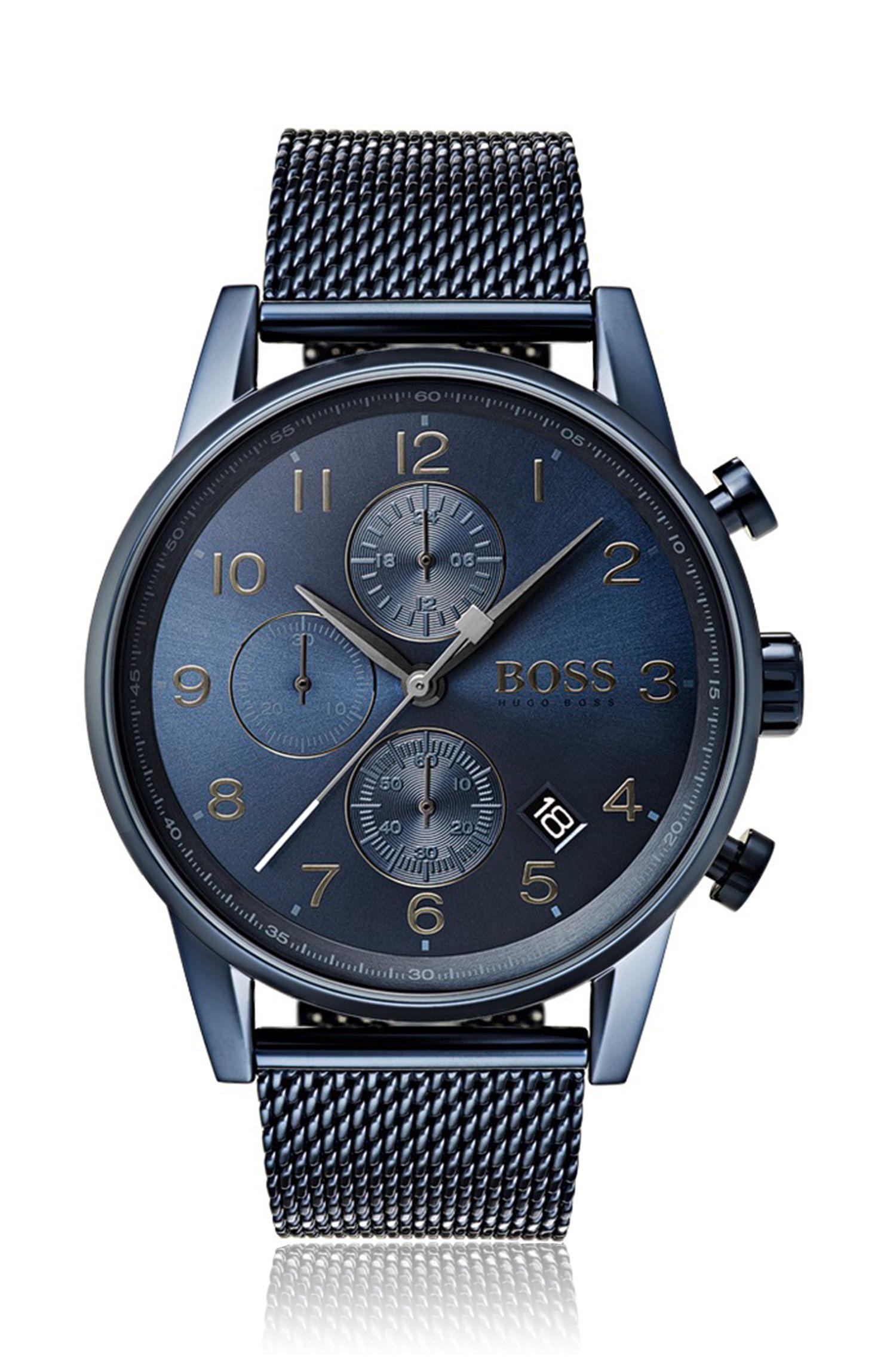 Navigator, Stainless Steel Chronograph Watch | 1513538