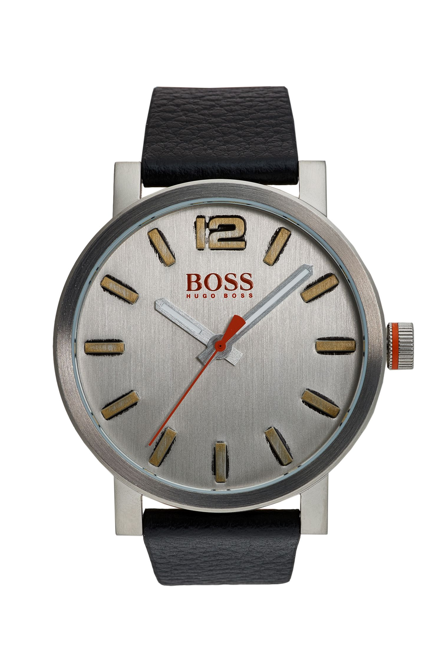 Bilbao Casual, Leather Strap Watch | 1550035