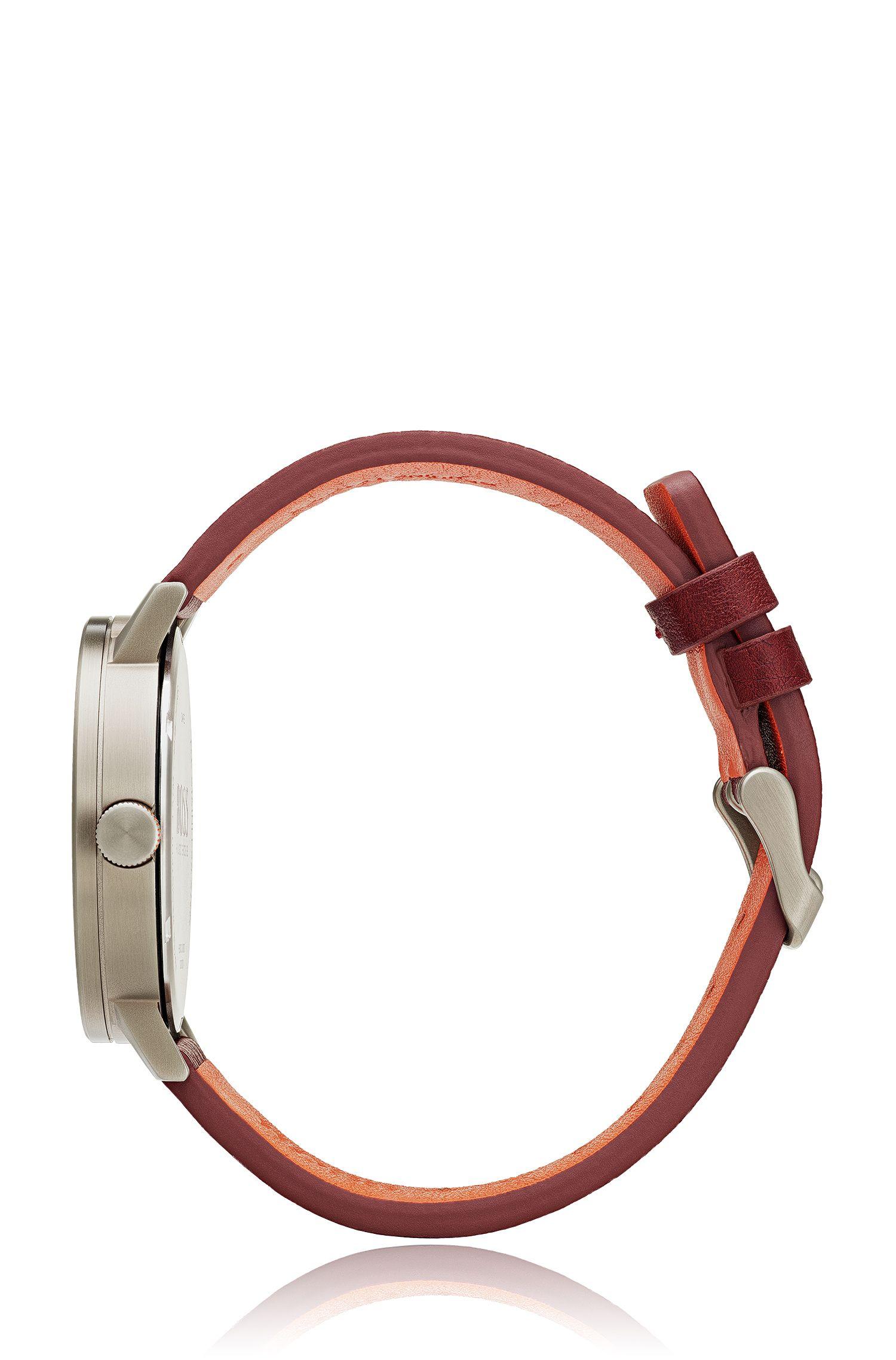 Bilbao Casual, Leather Strap Watch | 1550036