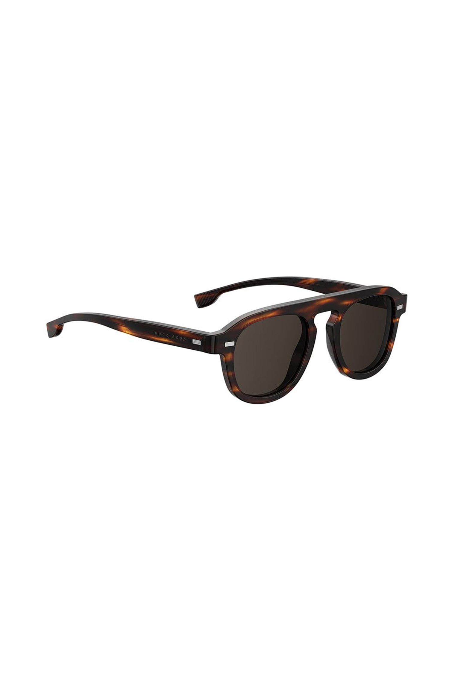 Vintage-style sunglasses in Havana acetate, Assorted-Pre-Pack