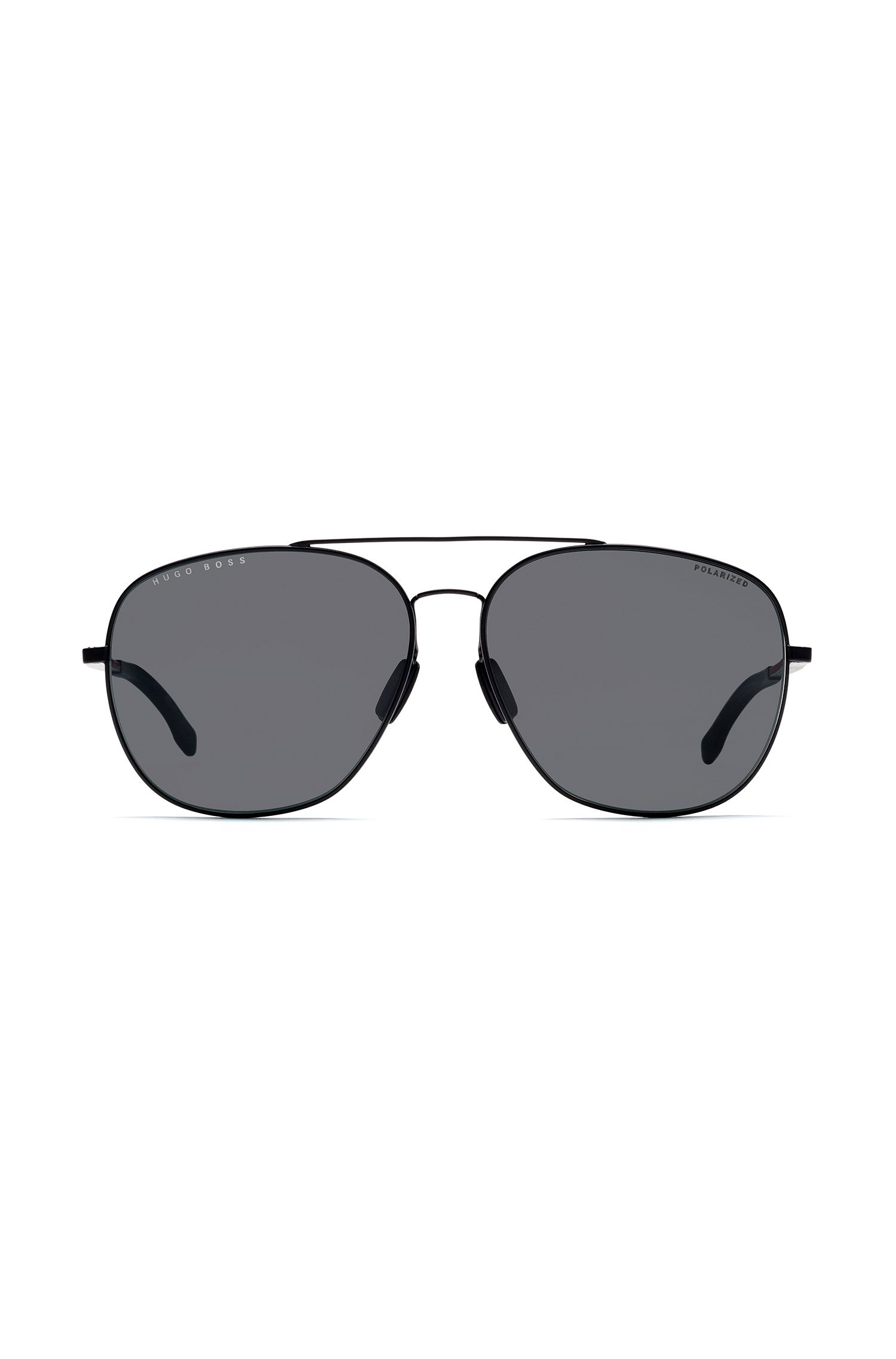 Double-bridge sunglasses with polarized lenses, Assorted-Pre-Pack