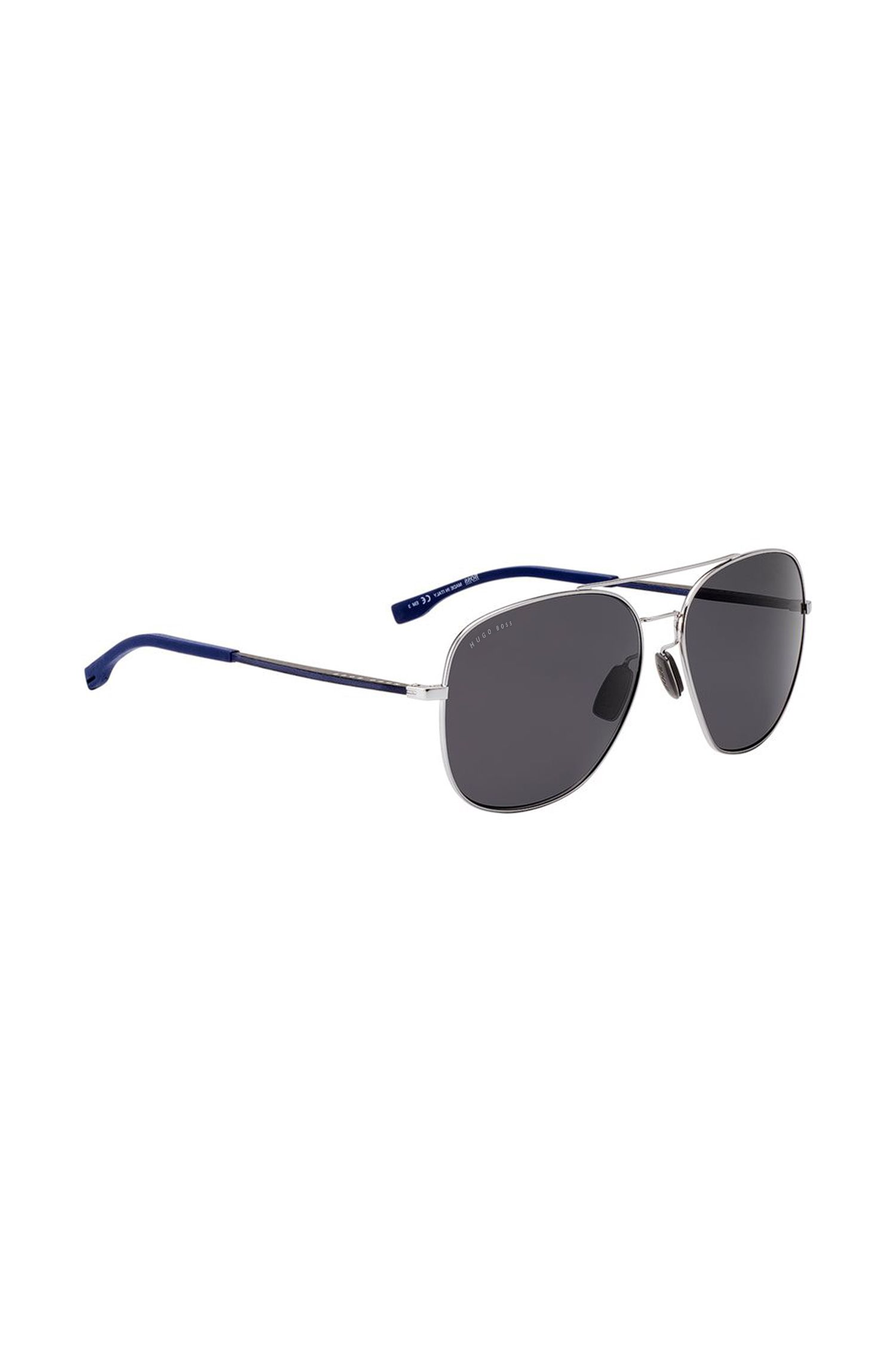 Ruthenium panthos sunglasses with rubber and carbon temples, Assorted-Pre-Pack