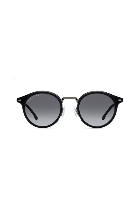Black-frame sunglasses with shaded lenses, Assorted-Pre-Pack
