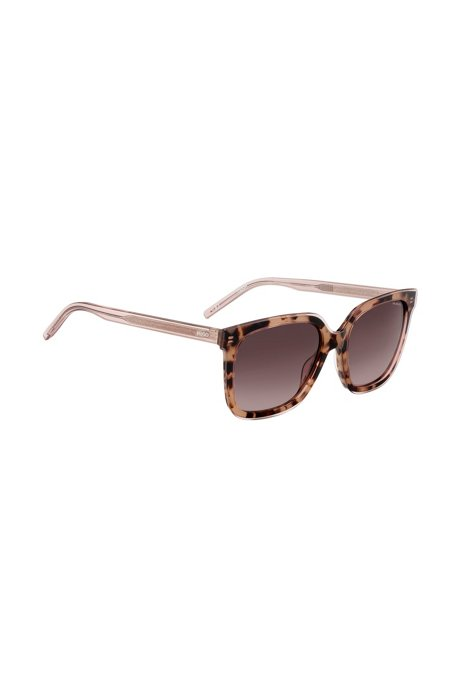 Acetate sunglasses with two-layer construction, Assorted-Pre-Pack