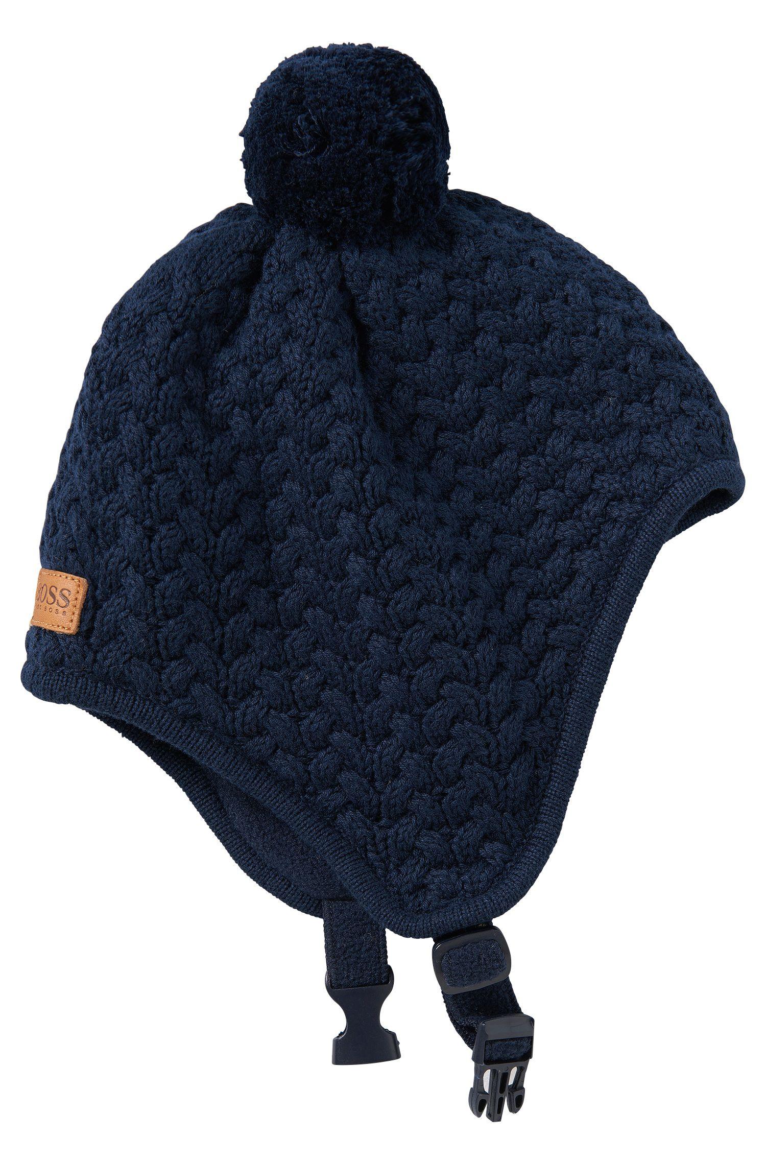 'J01064' | Toddler Knit Fleece Lined Hat